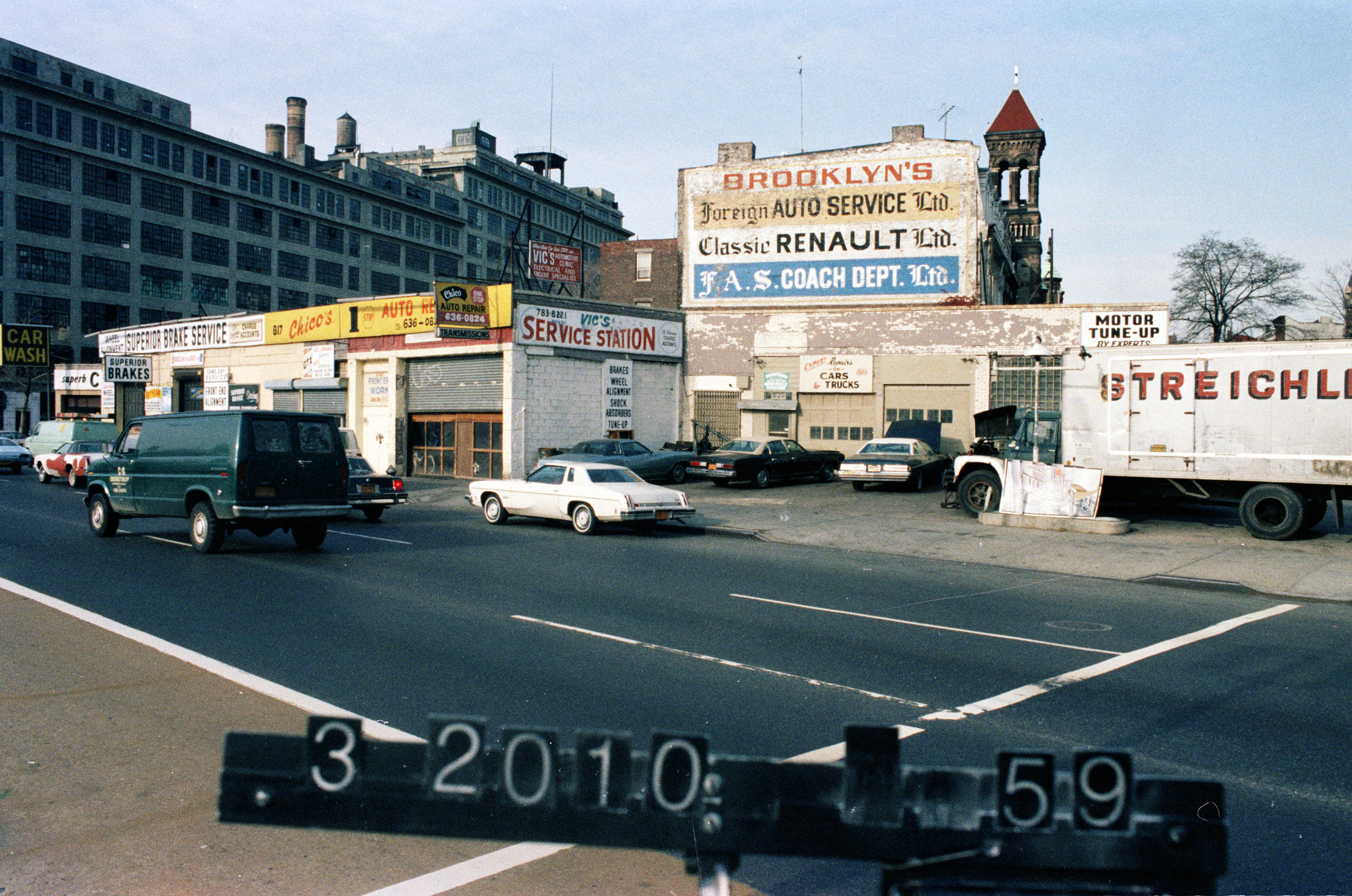 809 Atlantic Avenue, mid-1980s.Department of Finance collection, NYC Municipal Archives.