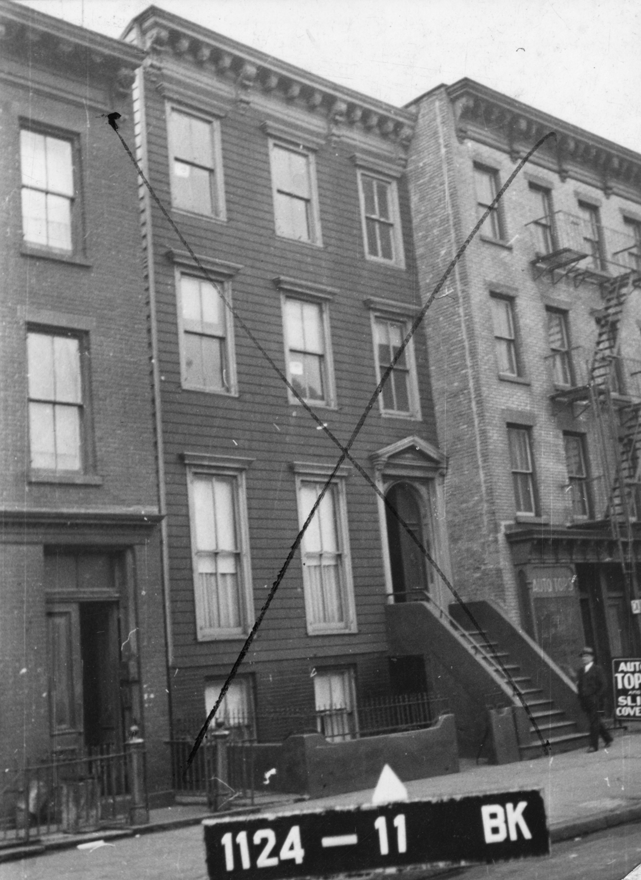 924 Atlantic Avenue, circa 1940.Department of Finance collection, NYC Municipal Archives.