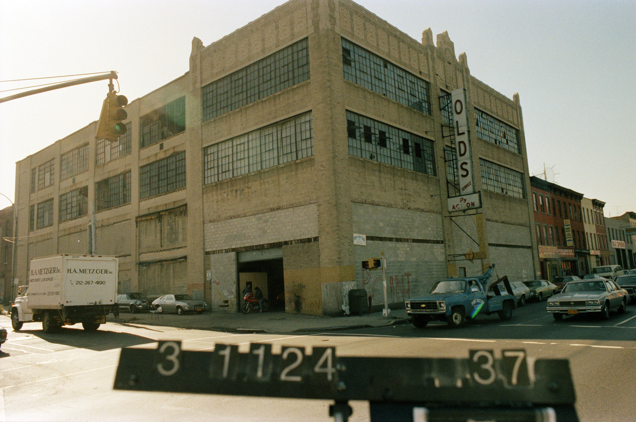 984 Atlantic Avenue, mid-1980s.Department of Finance collection, NYC Municipal Archives.