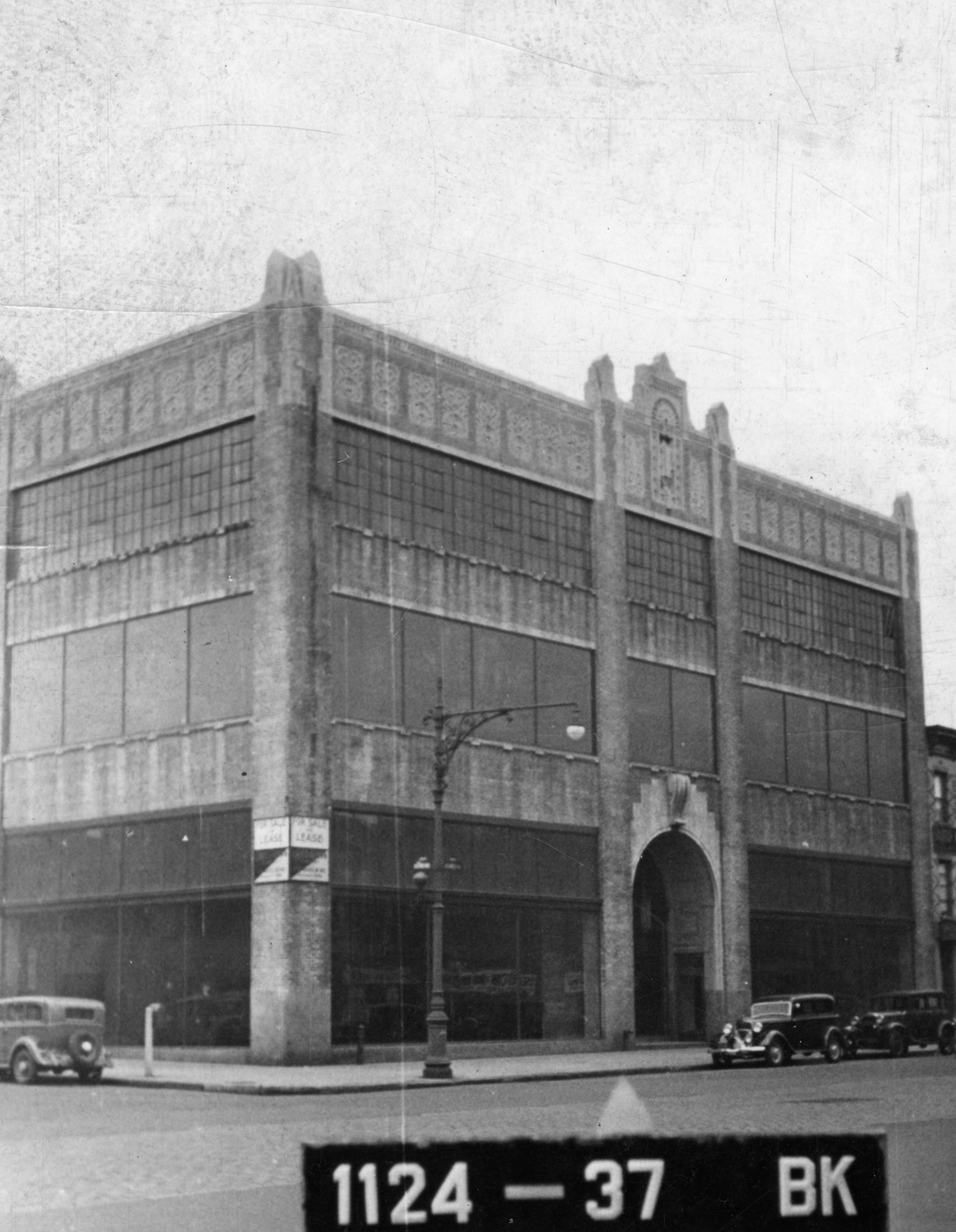 984 Atlantic Avenue, circa 1940.Department of Finance collection, NYC Municipal Archives.