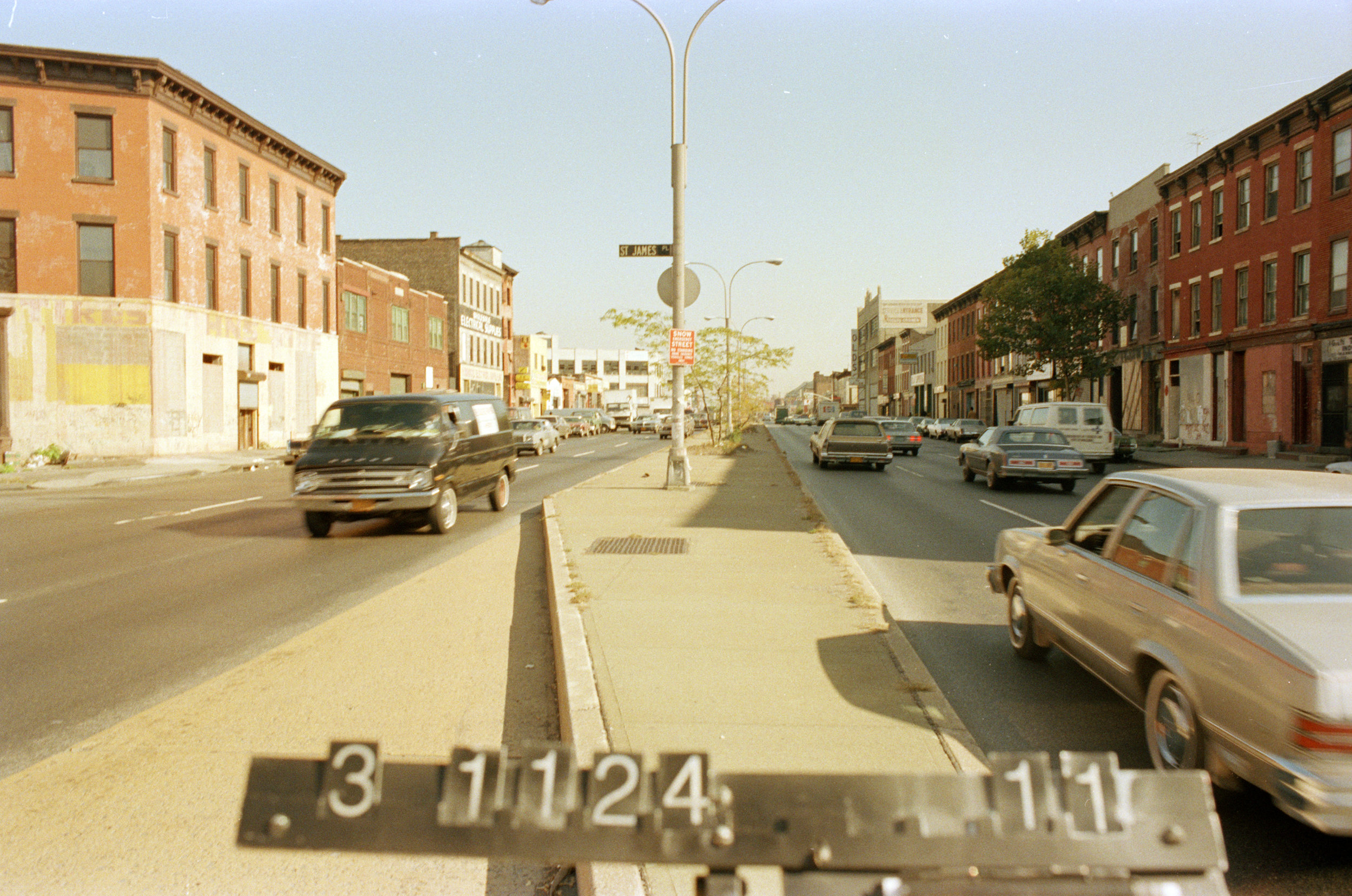 924 Atlantic Avenue, mid-1980s.Department of Finance collection, NYC Municipal Archives.