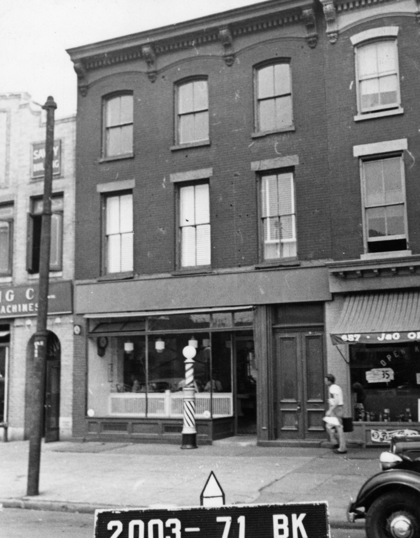 655 Atlantic Avenue, circa 1940.Department of Finance collection, NYC Municipal Archives.