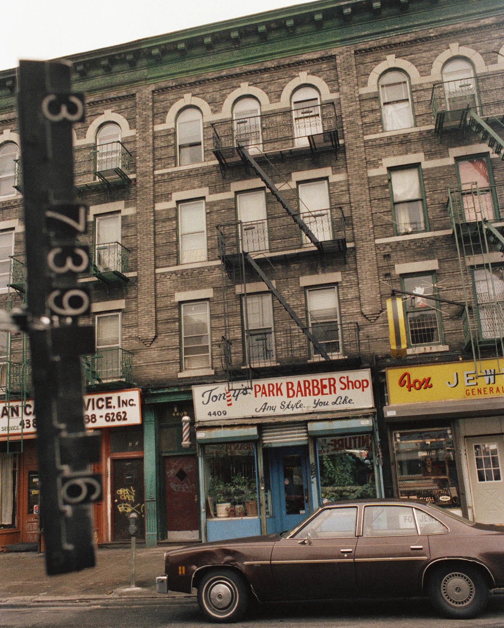 4409 5th Ave, Brooklyn, NY, mid-1980s.NYC Municipal Archives.