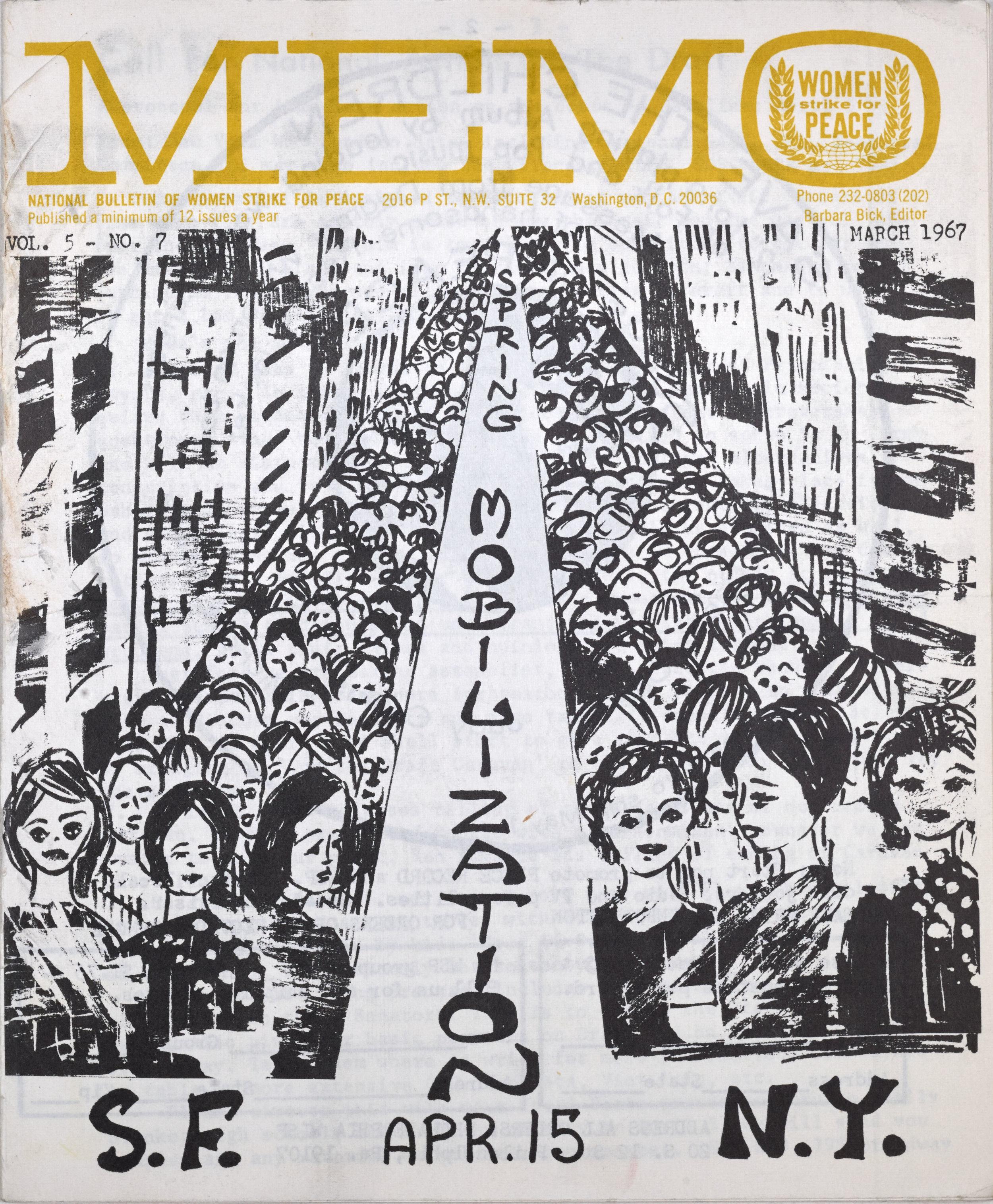 MEMO Spring Mobilization, 1967