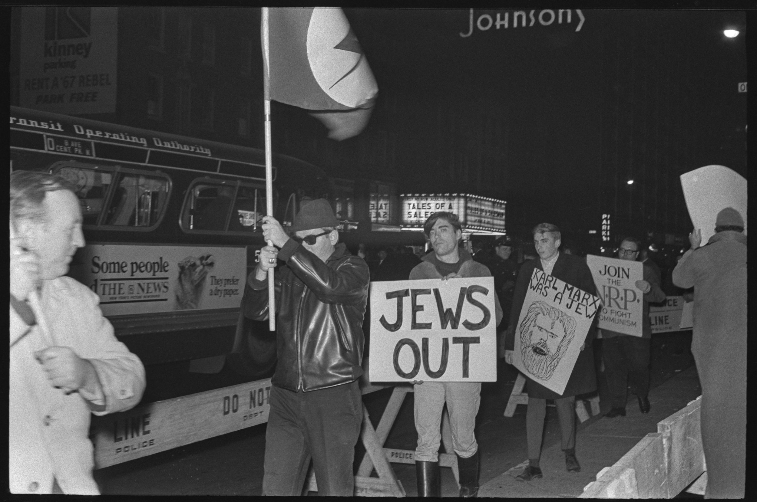 NRP demonstration, December 5, 1966