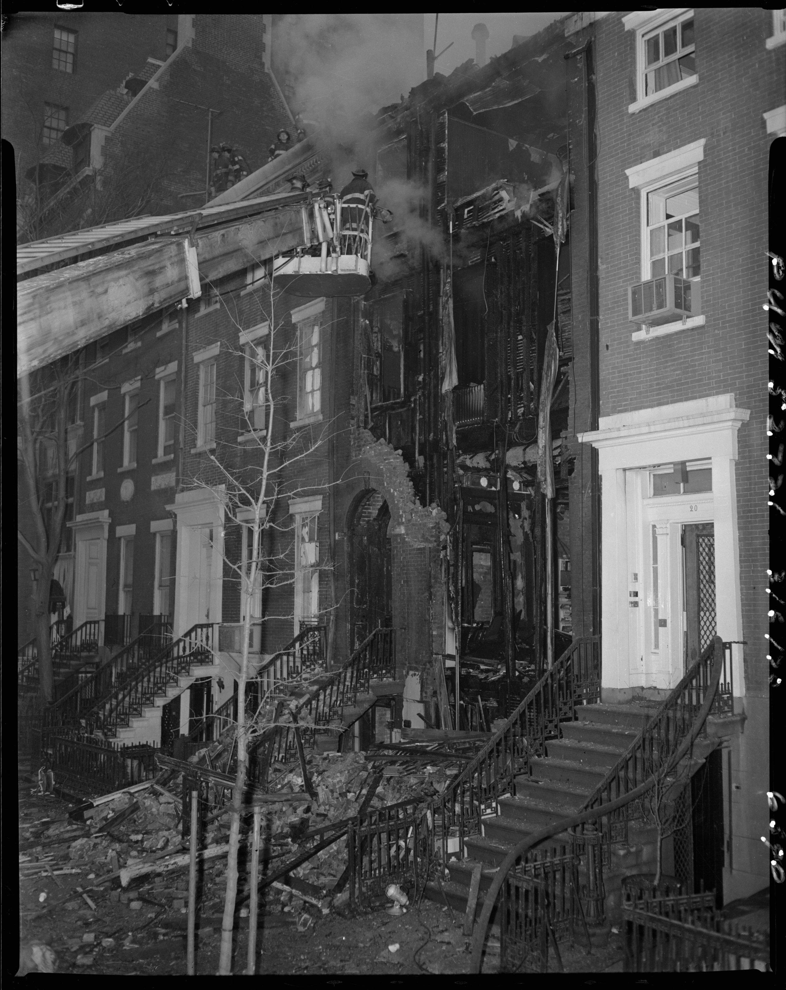 Weathermen Bombing in Greenwich Village, March 6, 1970