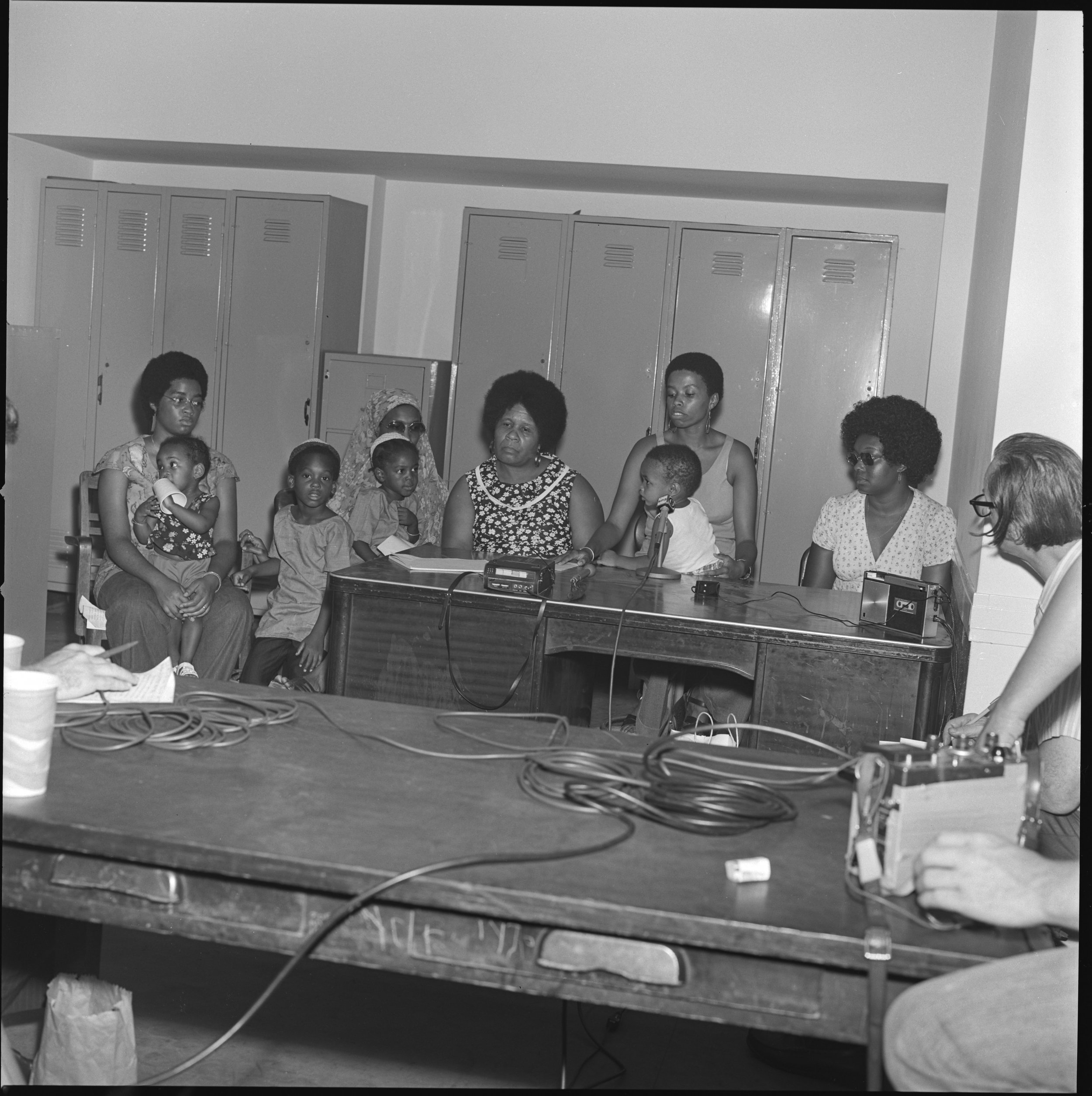 Black Liberation Army Press Conference, September 5, 1973