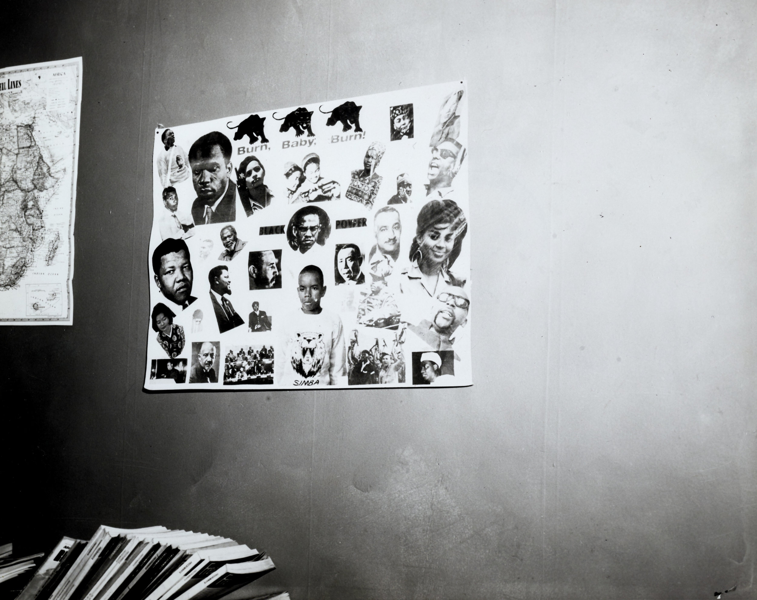 Collage at R.A.M. premises, 1967