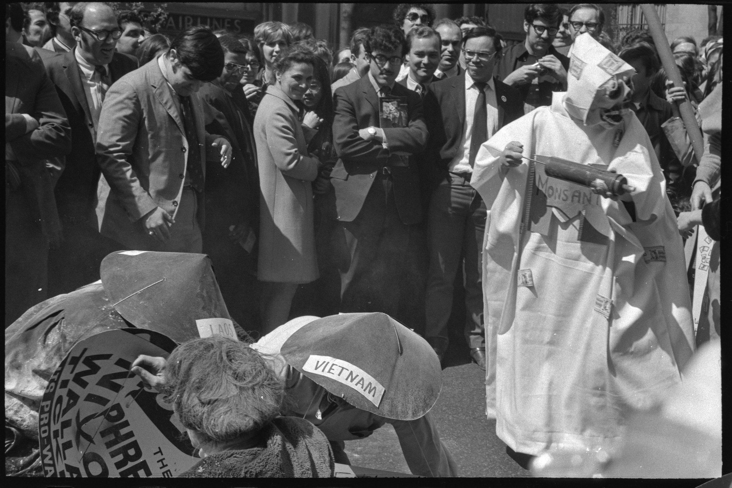 Earth Day, Anti-Monsanto Demonstration, April 22, 1970