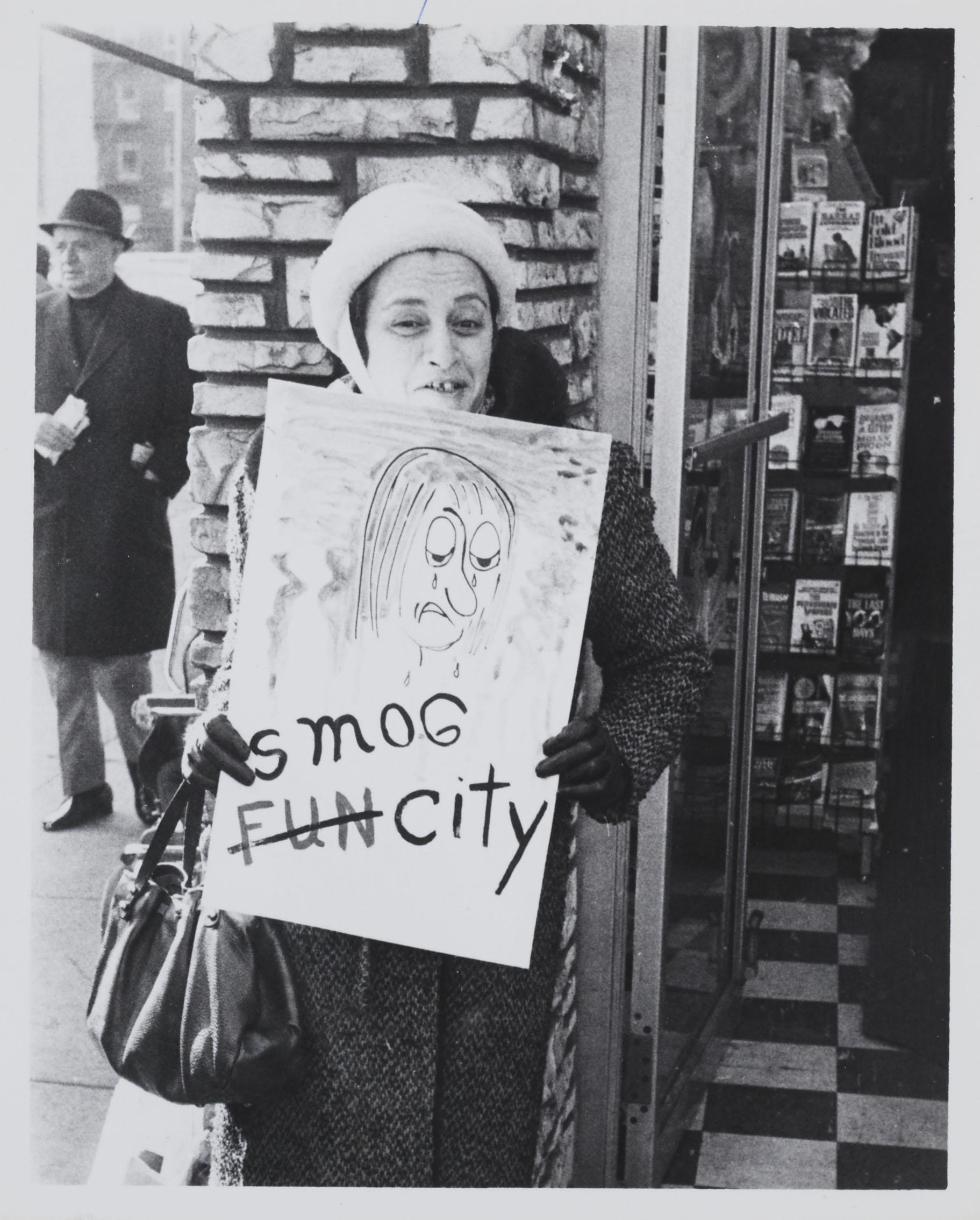 Smog City - Anti-Smog Parade, January 20, 1967