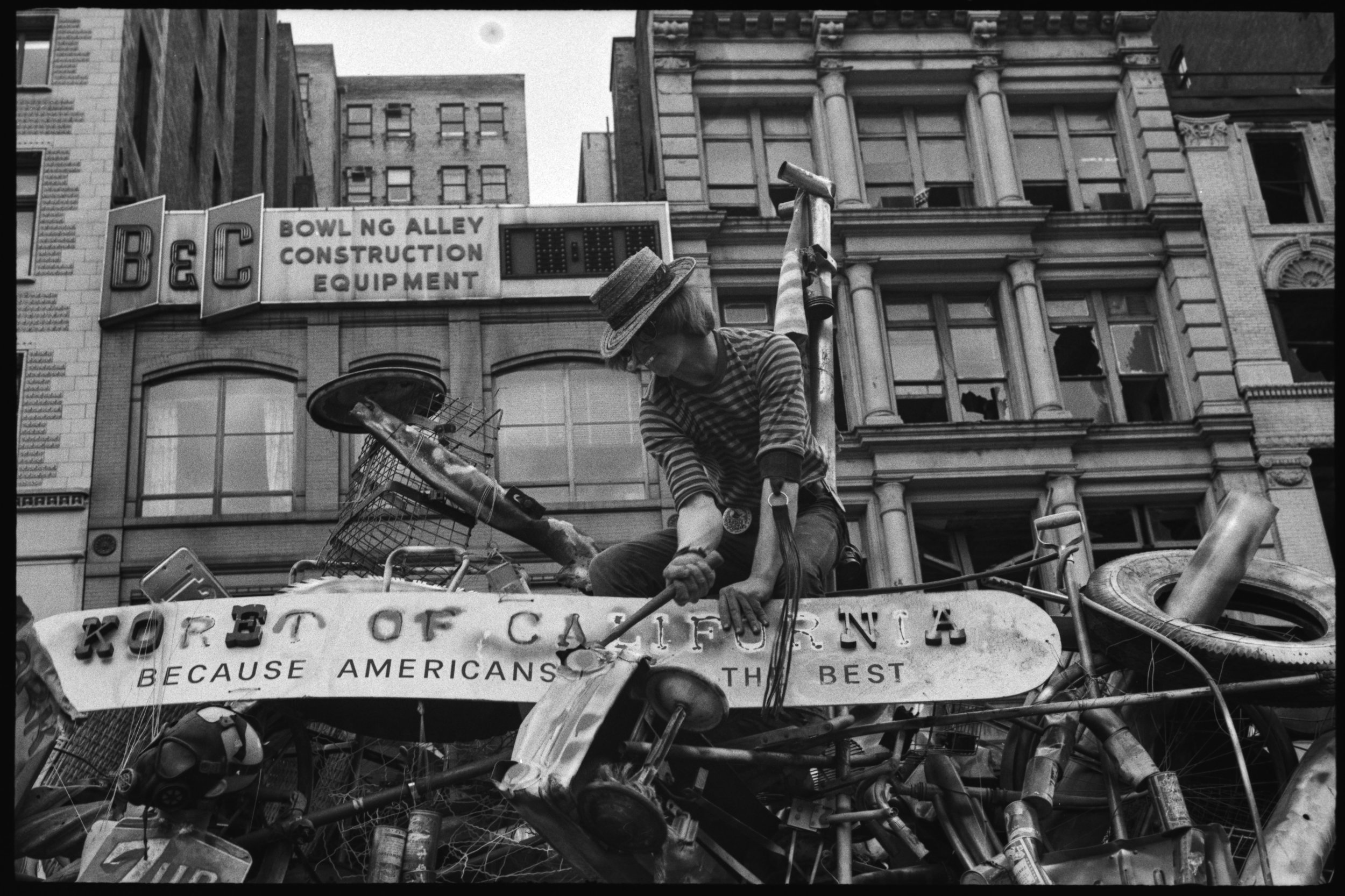 Earth Day Float, April 22, 1970