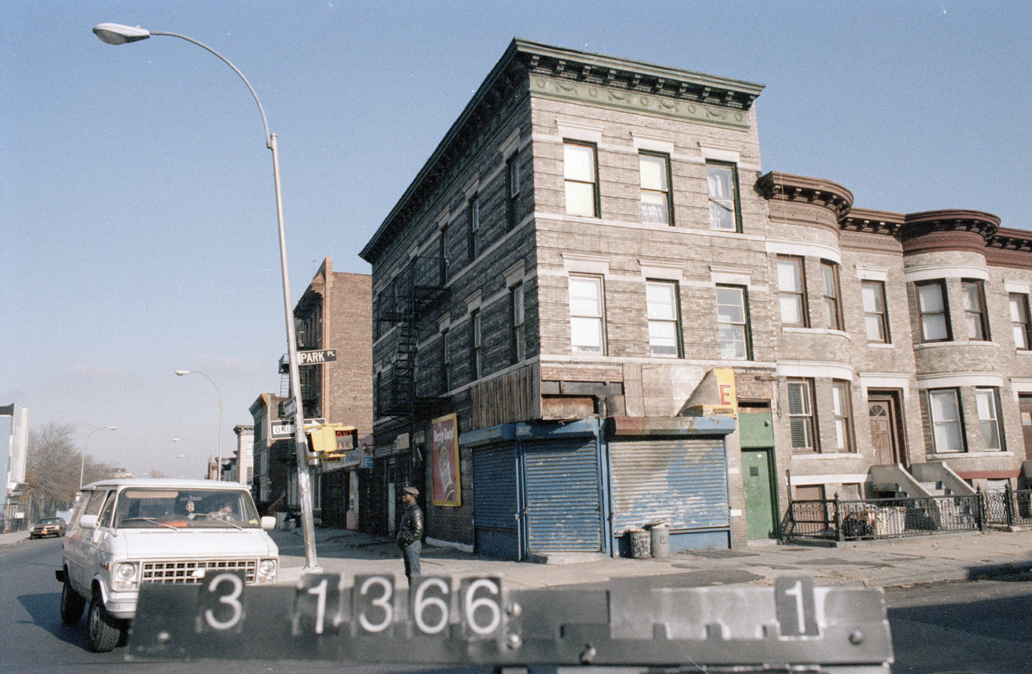 1323 Park Pl., mid-1980s. Photo: Department of Finance collection, NYC Municipal Archives.