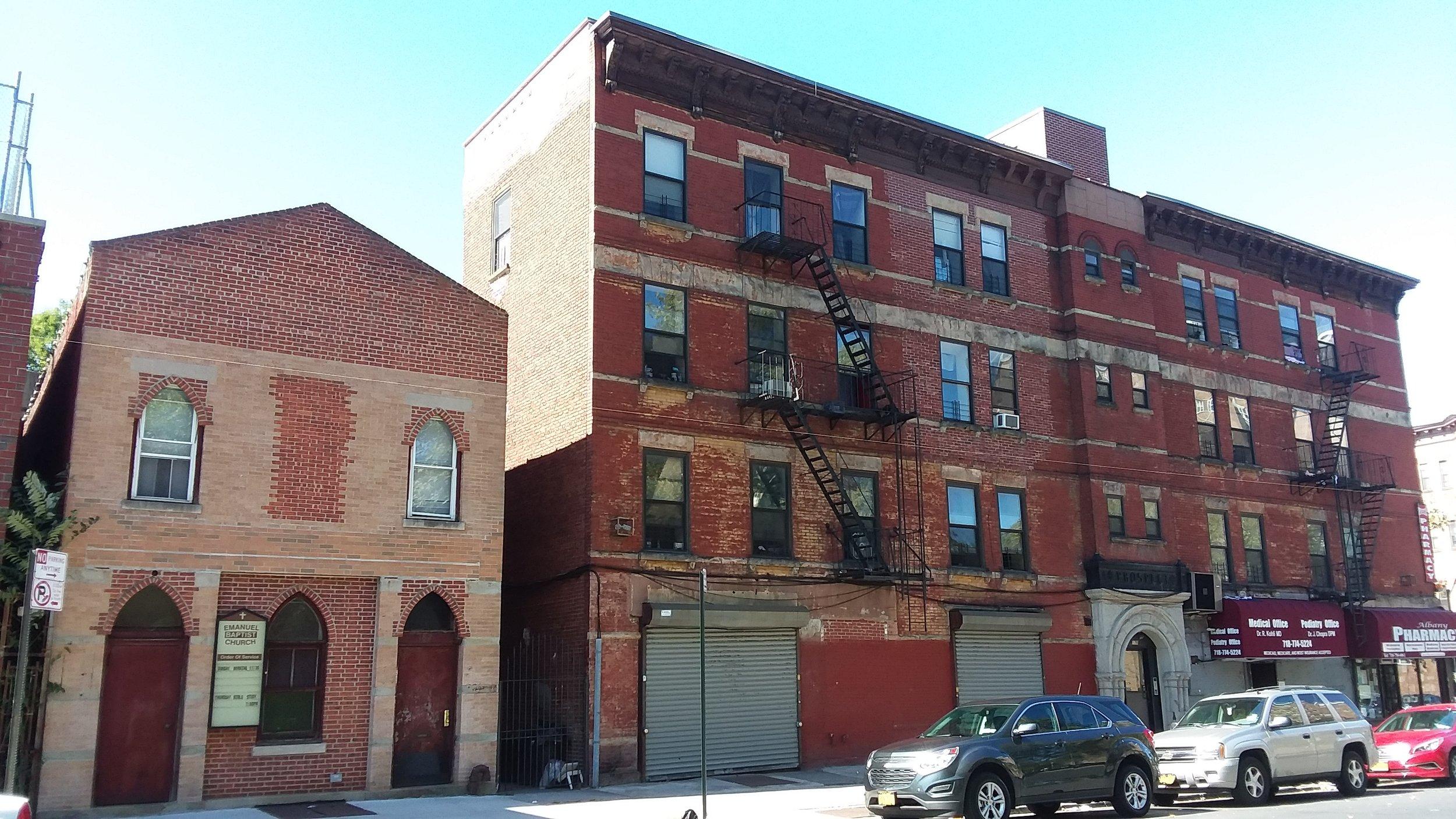 182 Albany Ave., Brooklyn, NY. Photo: Darryl Montgomery.