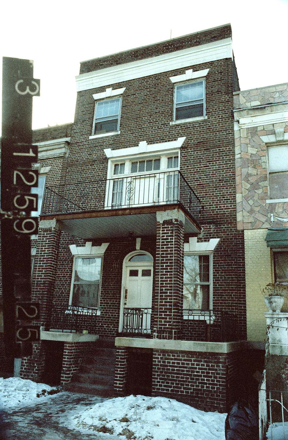 616 Lincoln Pl., mid-1980s. Photo: Department of Finance collection, NYC Municipal Archives.