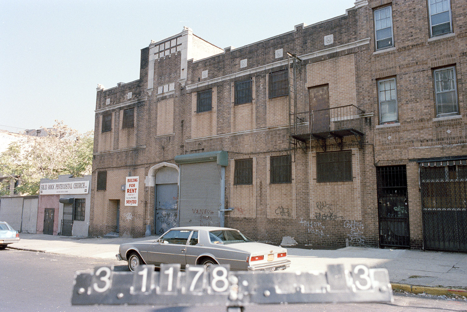 823 Classon Ave., mid-1980s. Photo: Department of Finance collection, NYC Municipal Archives.