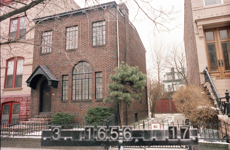 654 Jefferson Ave., 1980s. Photo: NYC Municipal Archives.