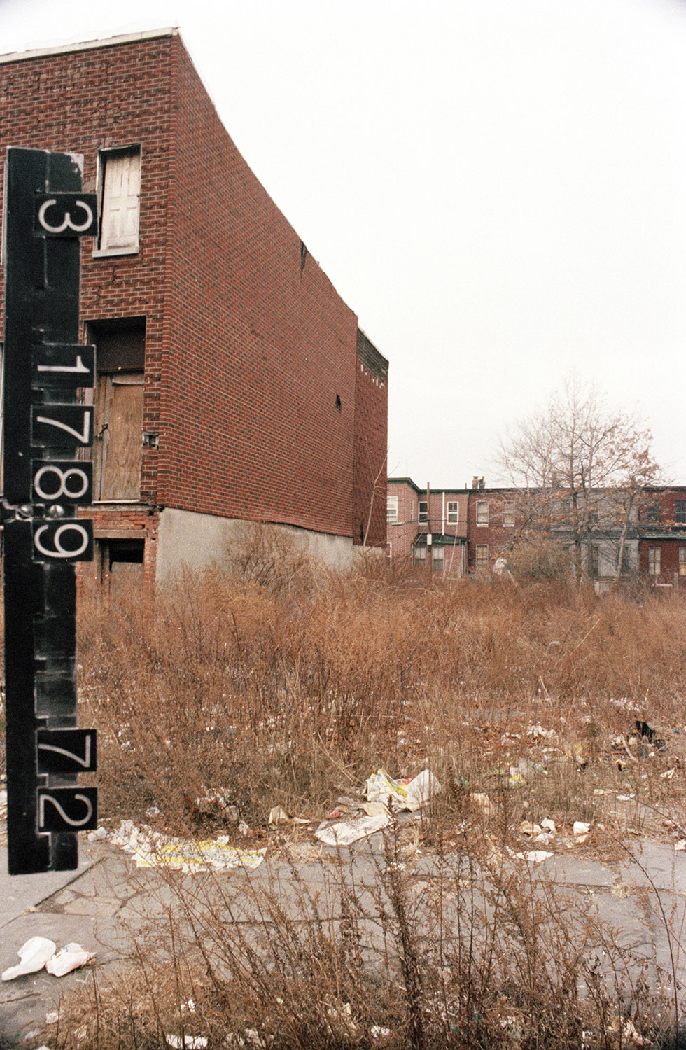 323-325 Clifton Pl., 1980s. Photo: NYC Municipal Archives.