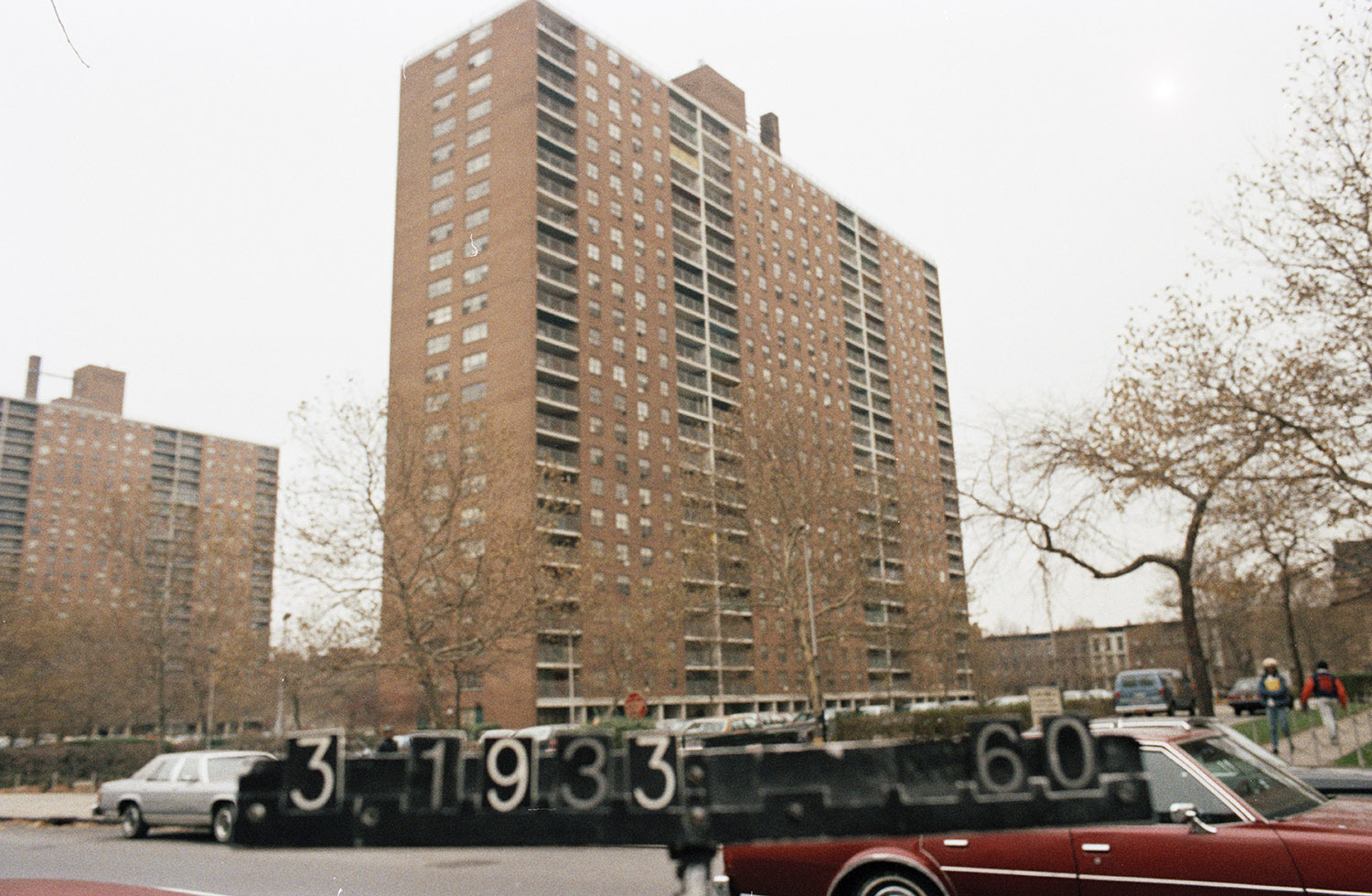 309 Lafayette Ave., mid-1980s. Photo: Department of Finance collection, NYC Municipal Archives.