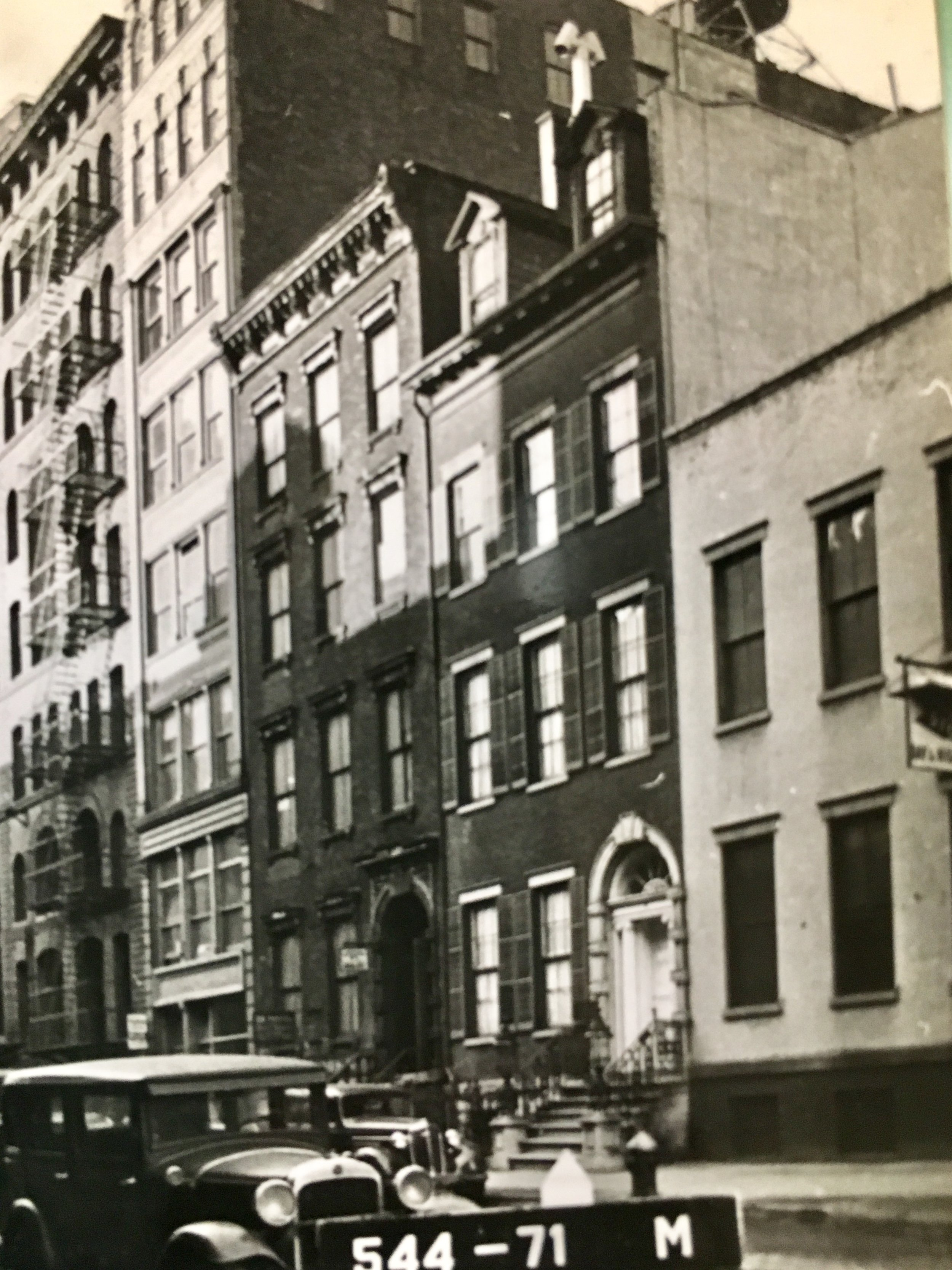 29 East 4th Street, circa 1940. Department of Finance Collection, NYC Municipal Archives.