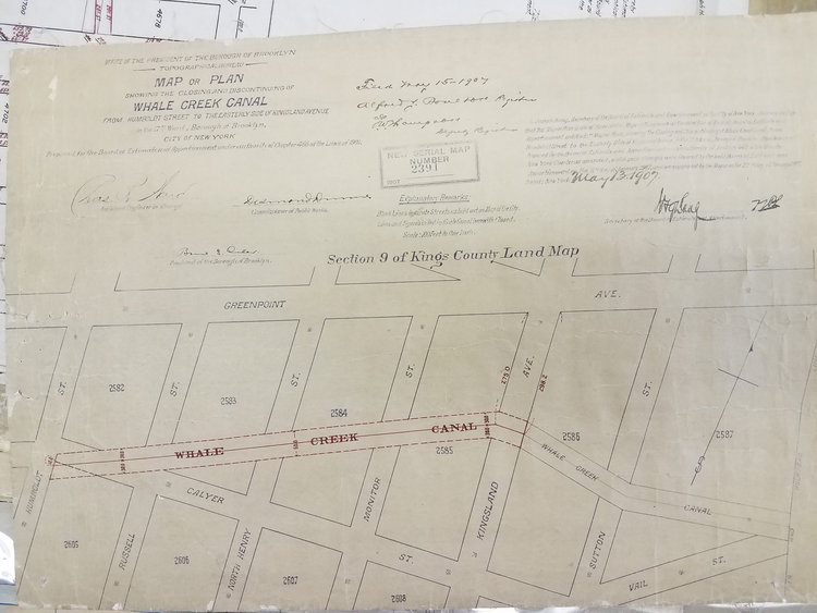 From the Ground Up: A Survey of the Map Collections of the Municipal