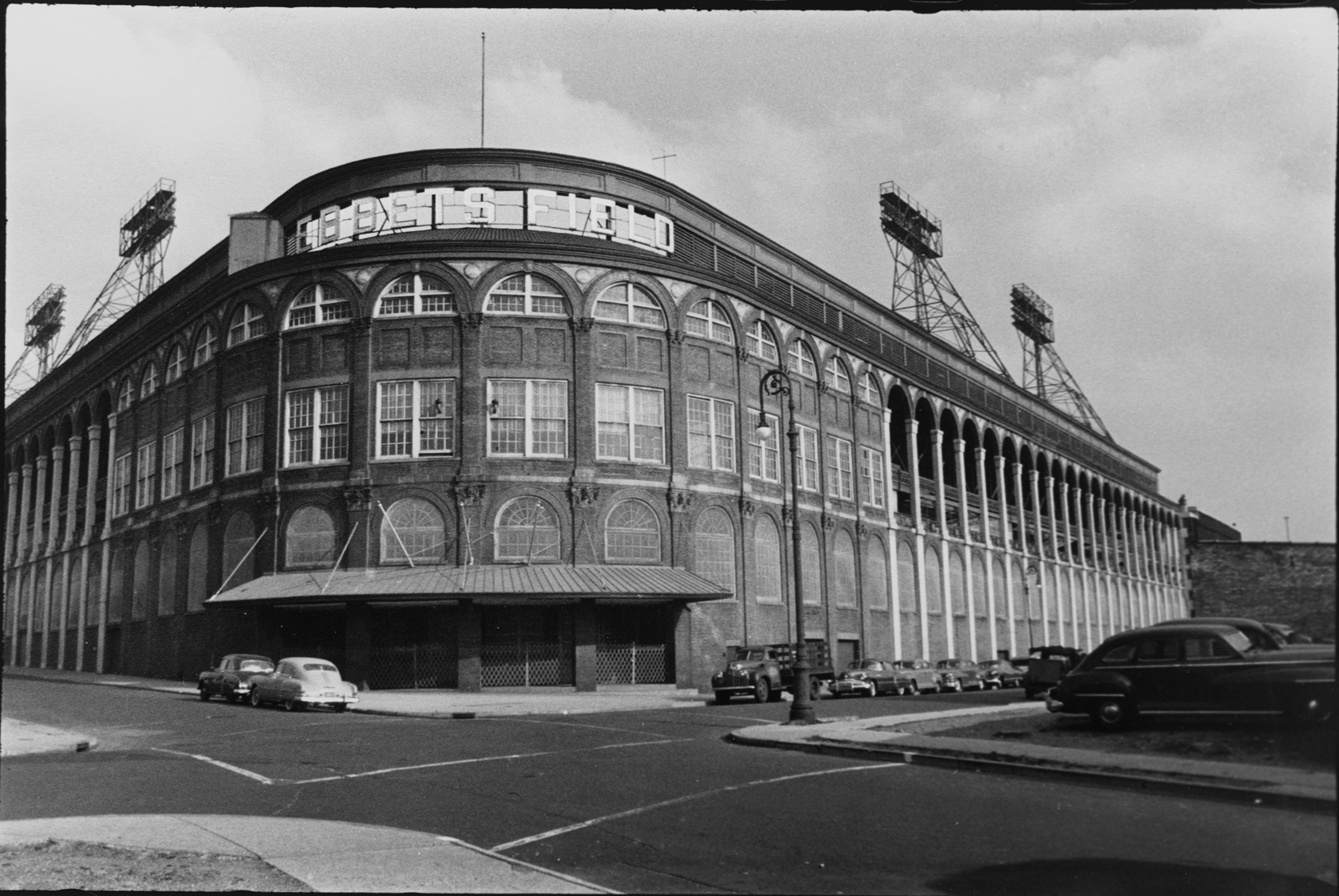 Ebbets Field, ca. 1949. Department of Finance Tax Photo Collection, NYC Municipal Archives.
