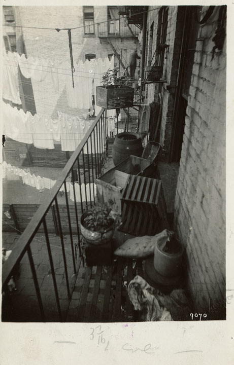 Municipal Archives Collection, Tenement House Department