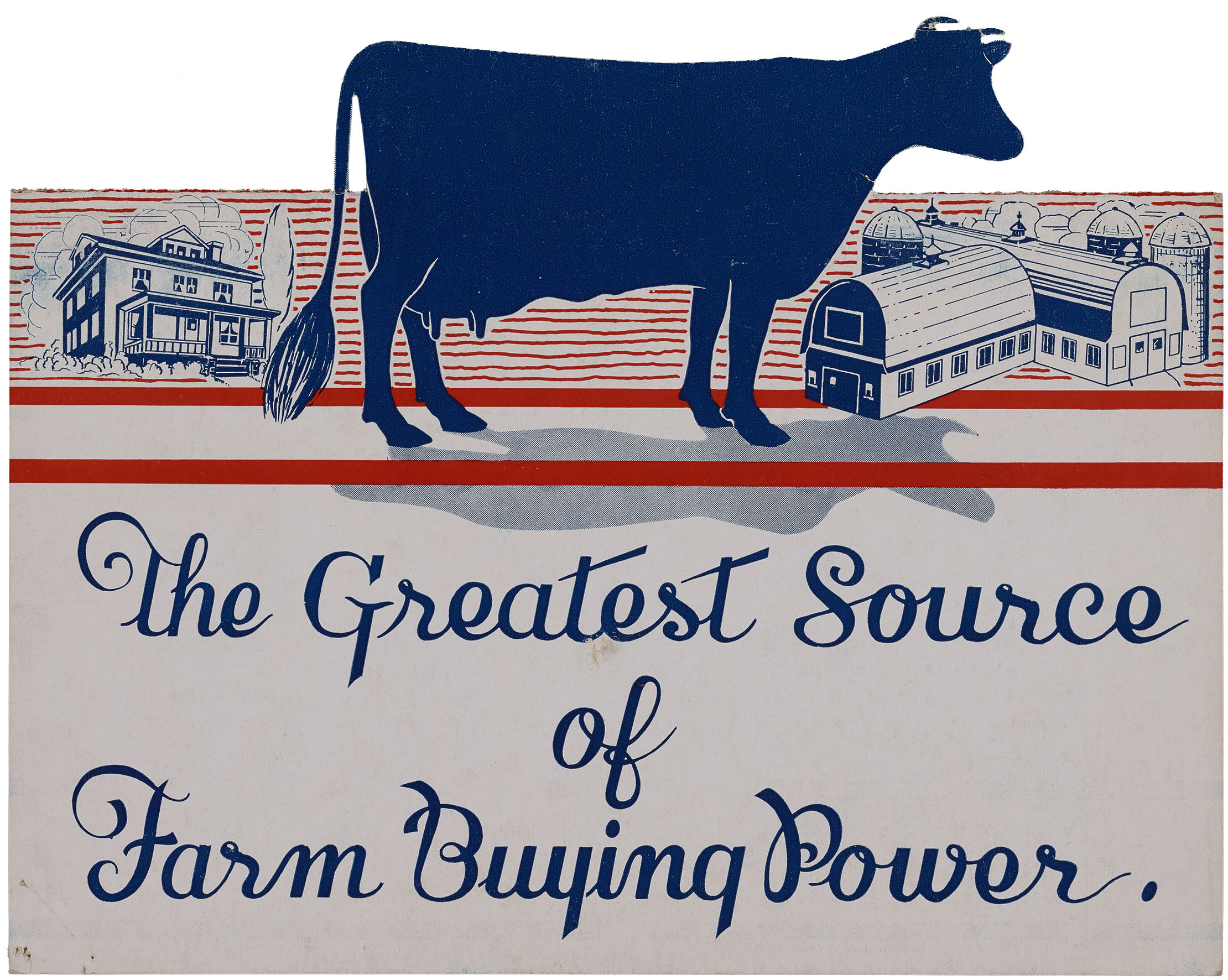 Promotional milk brochure, 1939. WPA Federal Writers' Project Collection, NYC Municipal Archives.