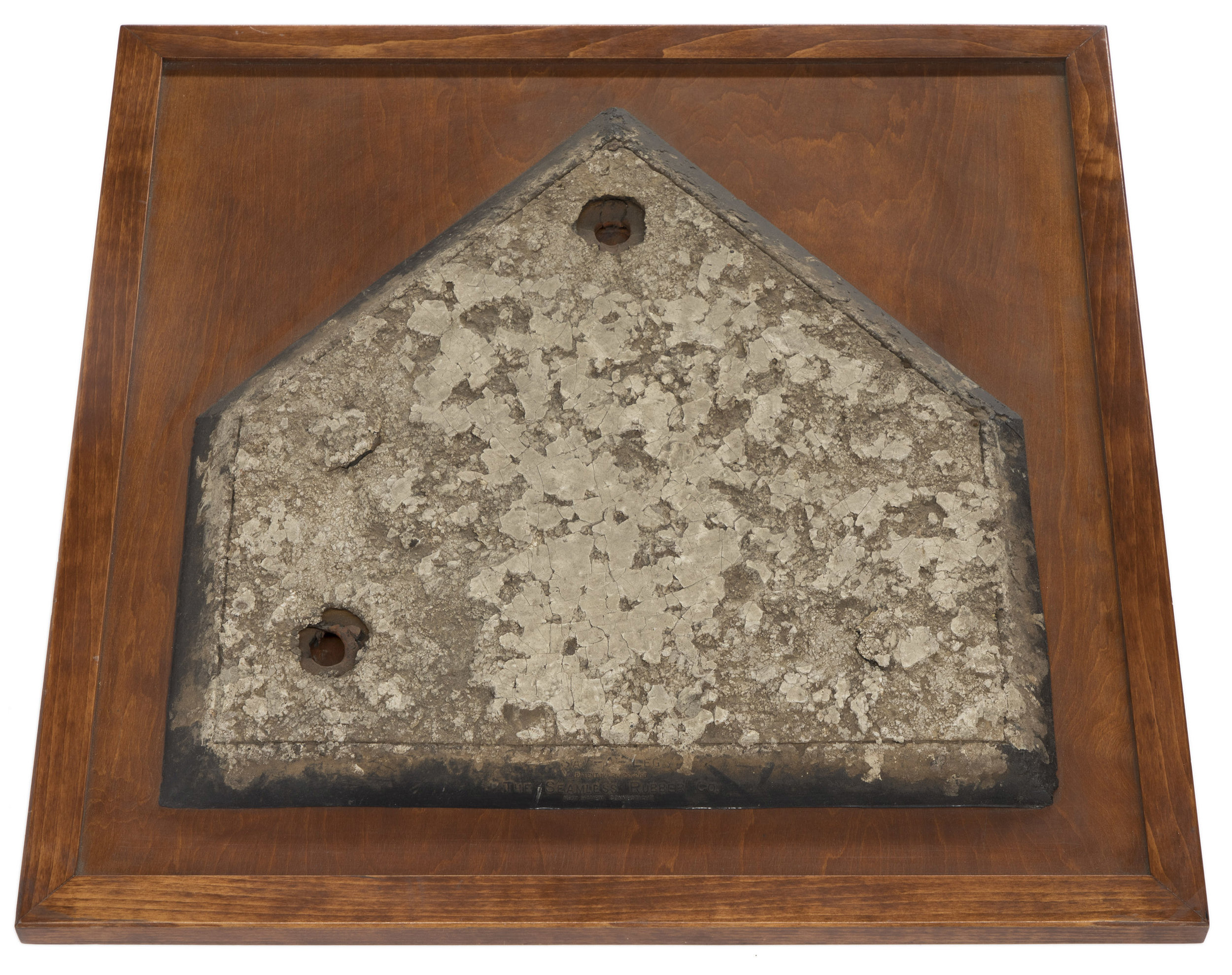 Home Plate from Ebetts Field, Borough President Brooklyn Collection, NYC Municipal Archives.