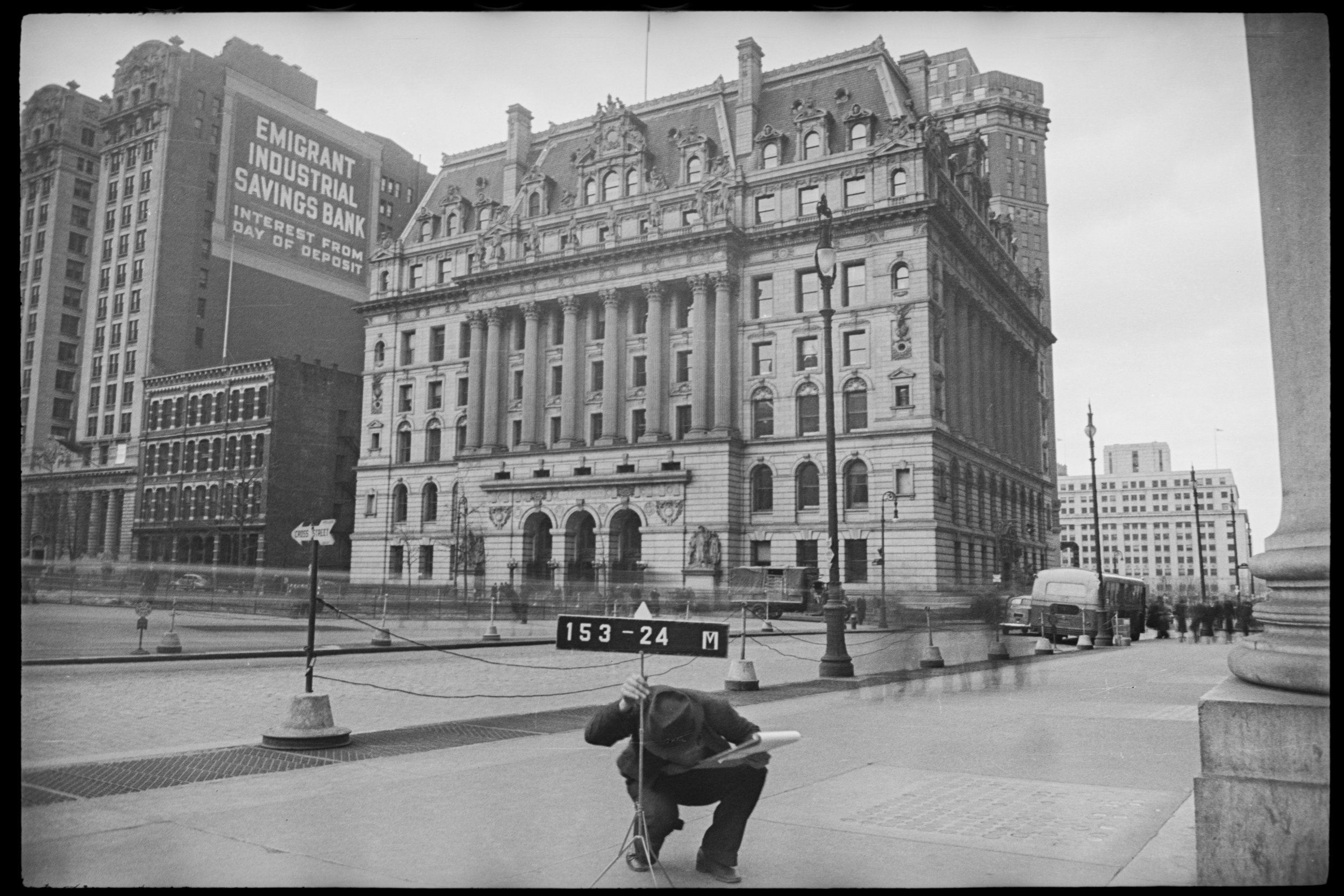 31 Chambers Street, ca. 1940. Department of Finance Collection, NYC Municipal Archives.