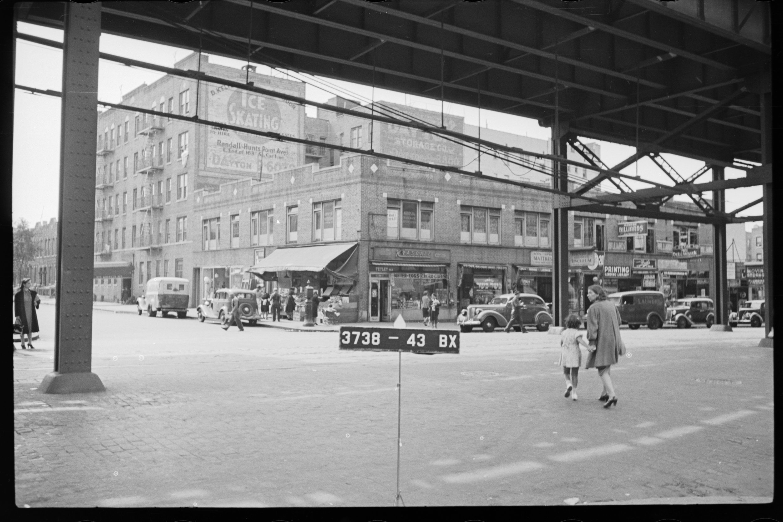 Bronx, 1494 Westchester Ave, Block 3738, Lot 43. Department of Finance Collection, NYC Municipal Archives.