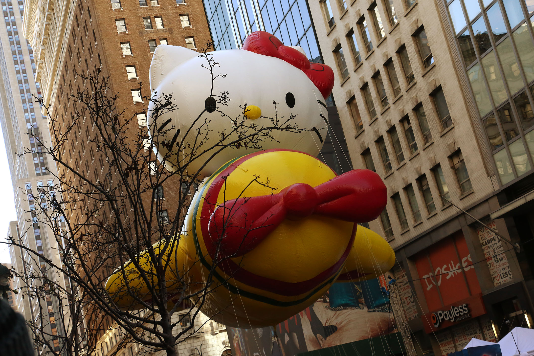 Hello Kitty, Thanksgiving November 28, 2013. Mayor Bloomberg Collection, NYC Municipal Archives.