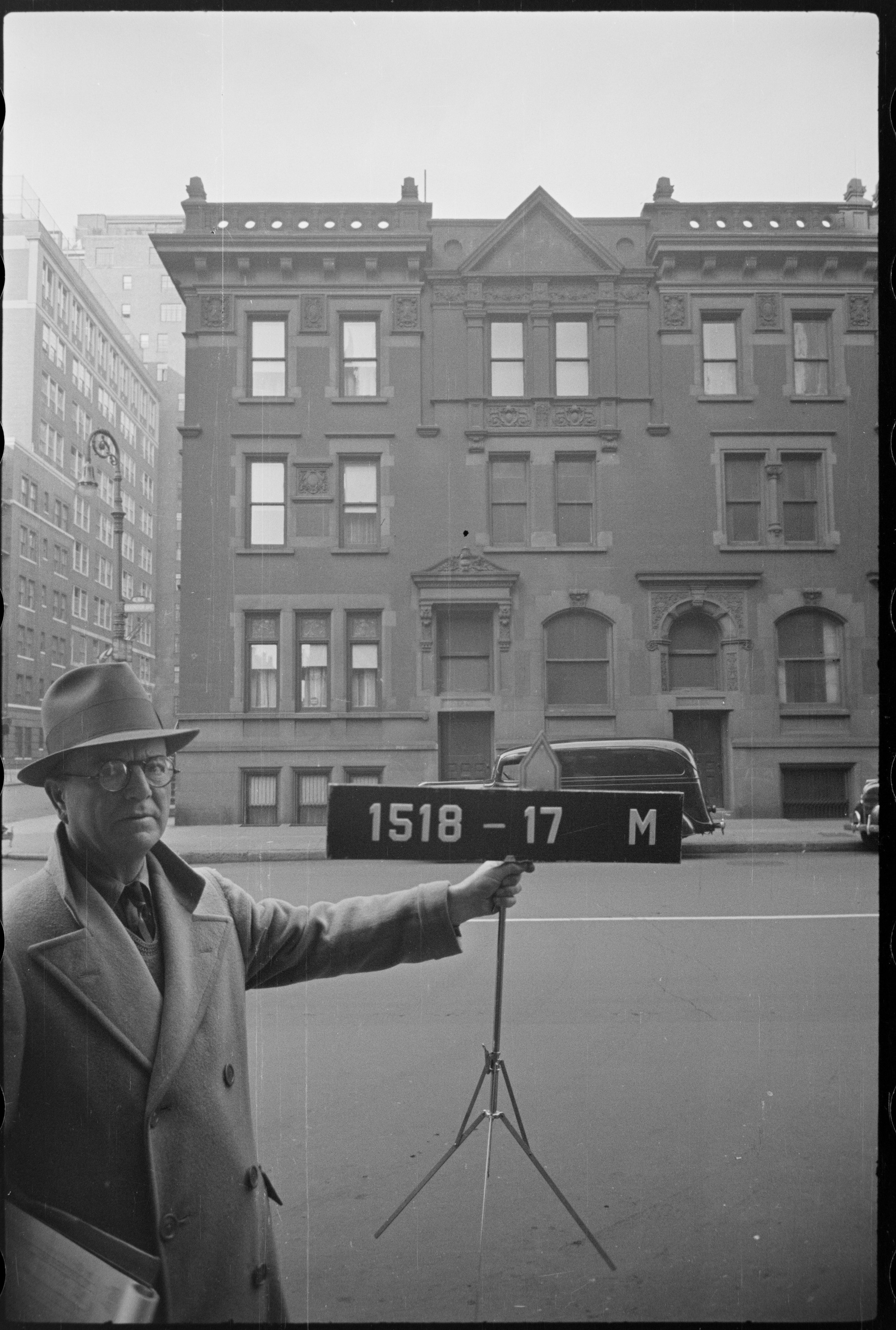 Warhol's residence at 1342 Lexington Avenue as it was ca. 1940. Department of Finance Collection, NYC Municipal Archives.