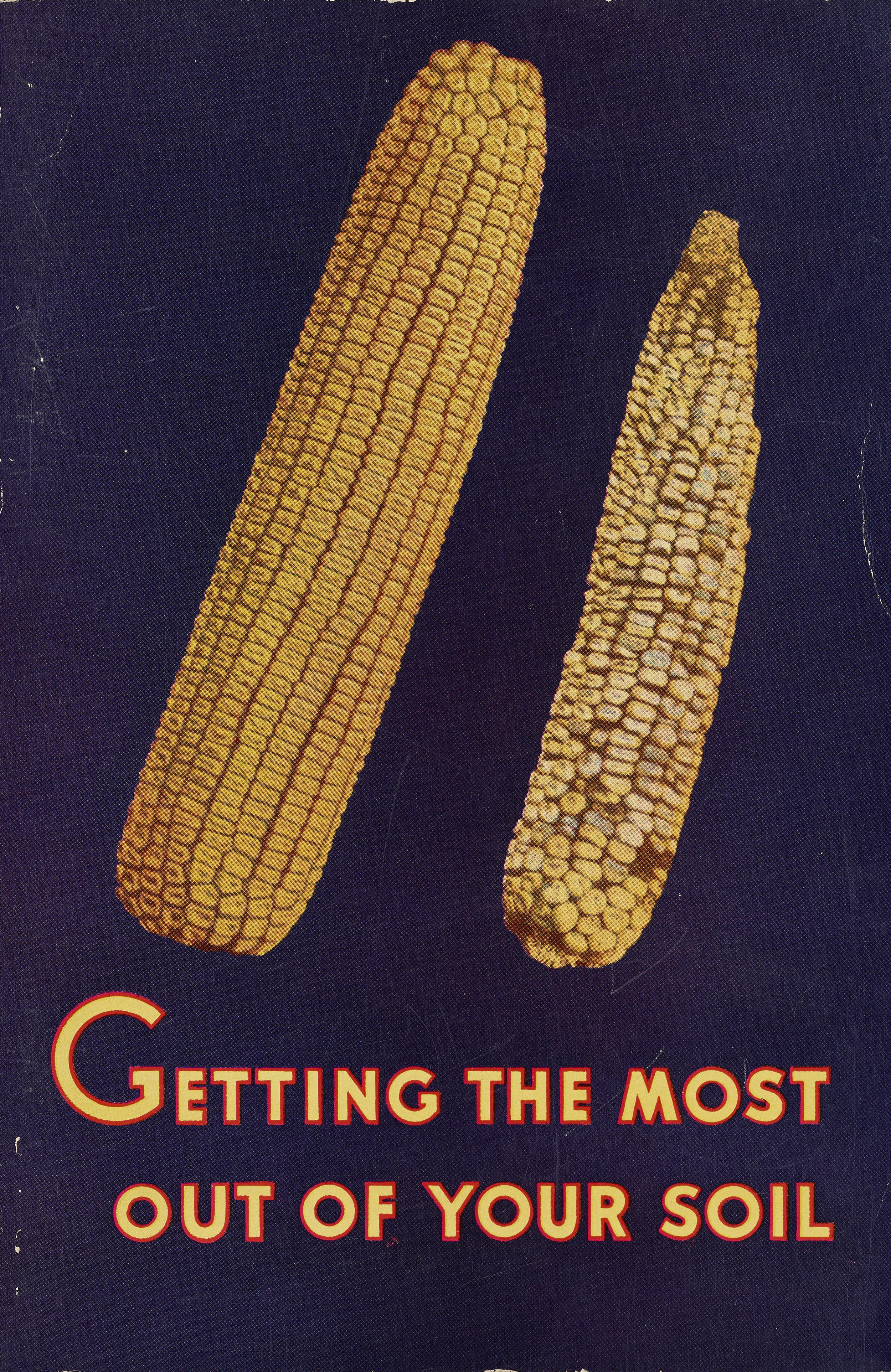 Corn brochure, WPA Federal Writers' Project collection, NYC Municipal Archives.