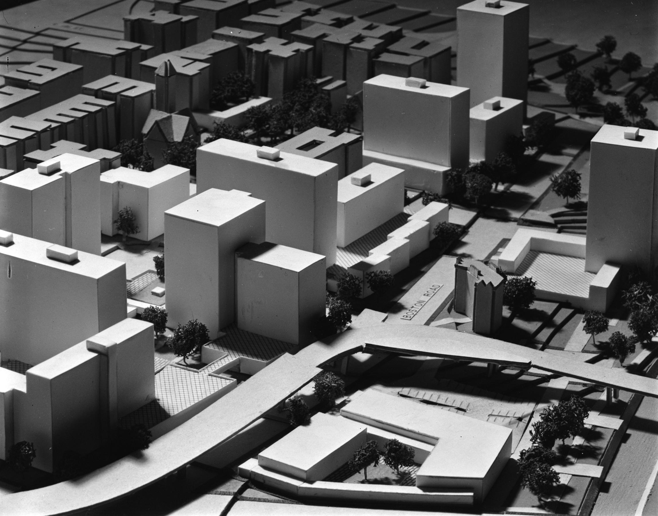 Bronx Park South Development model, March 1964.