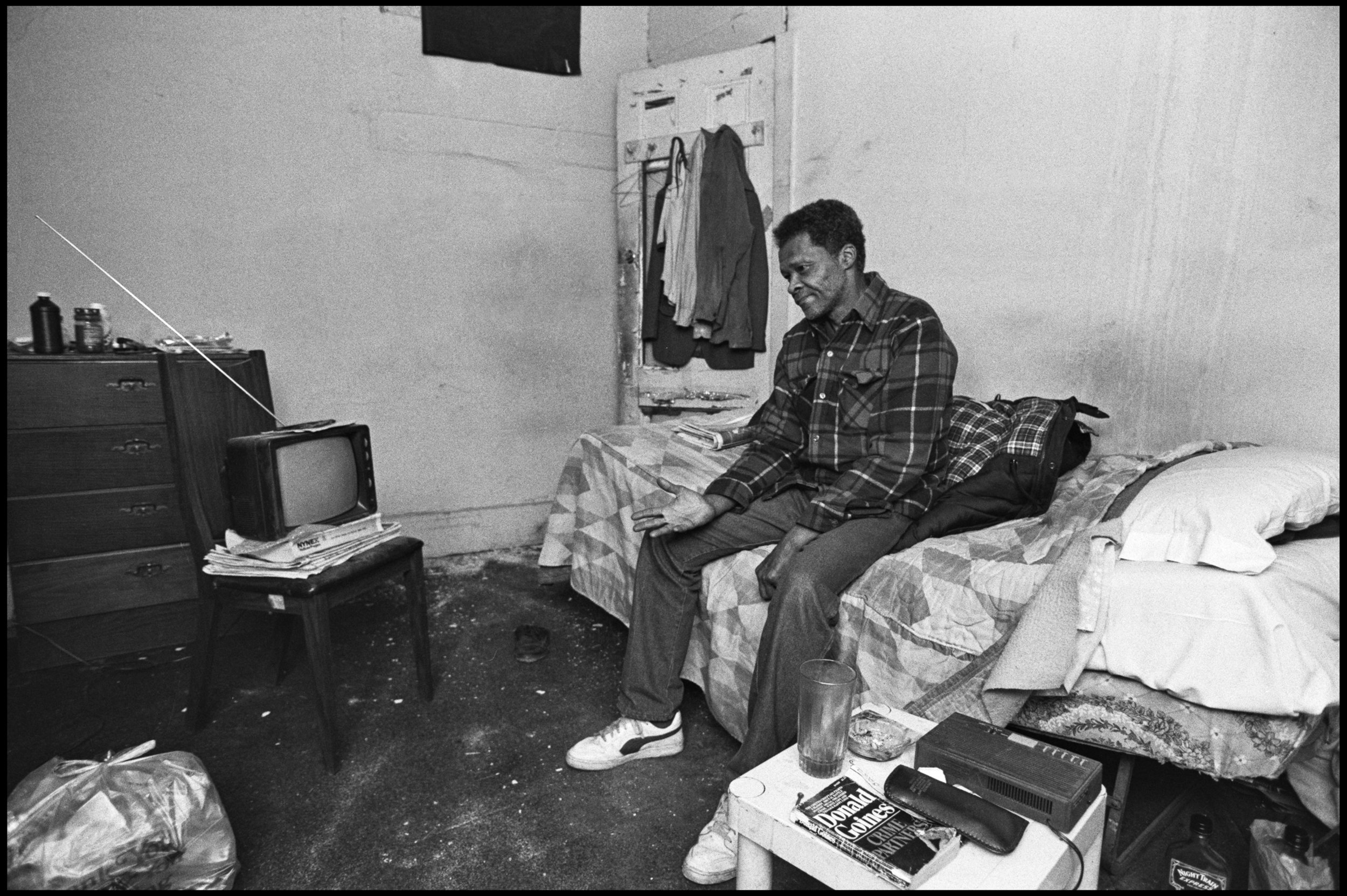 South Bronx, January 1990. Photograph by Larry Racioppo.