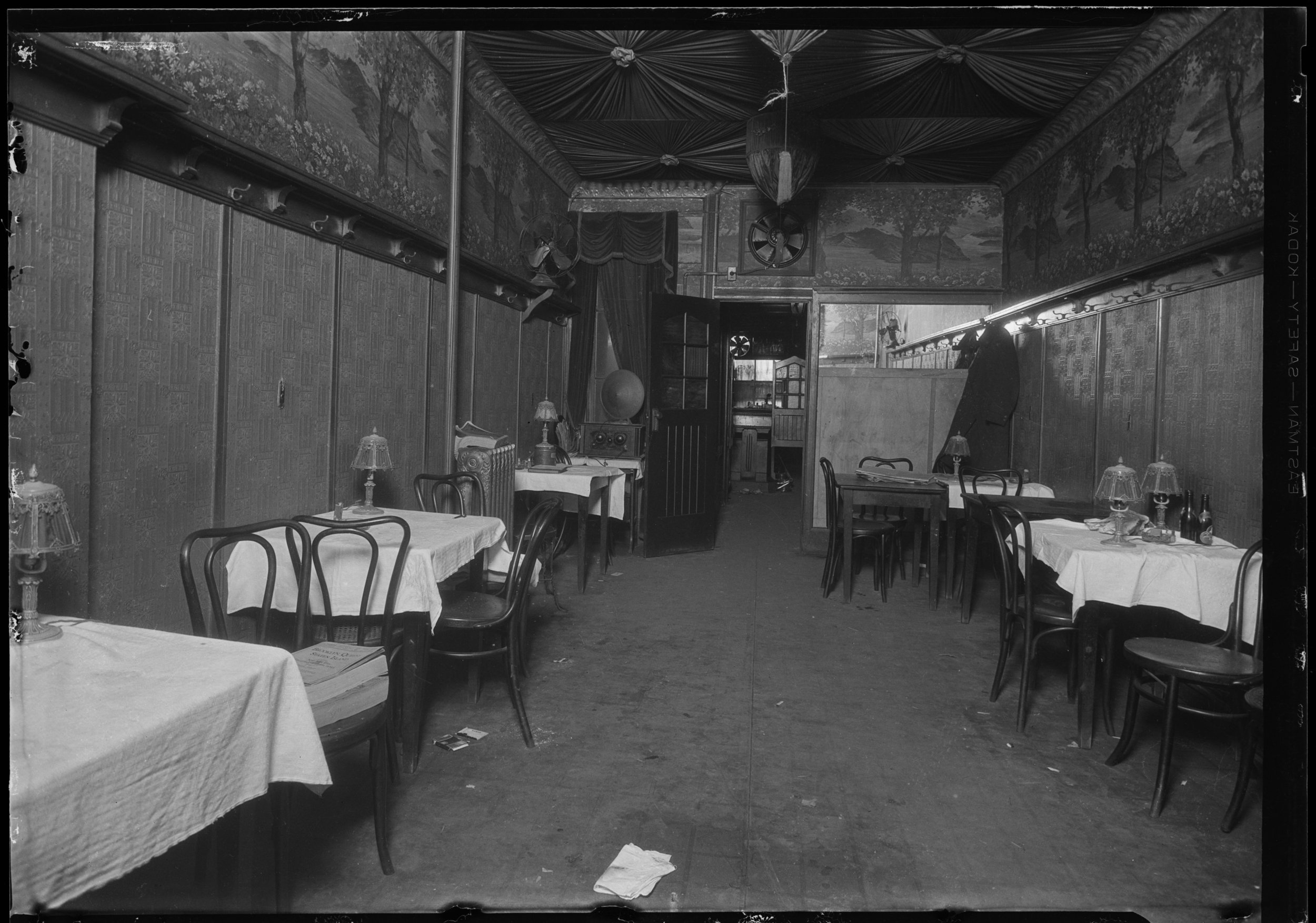 NYPD 8734e: Photo of stick up and possible homicide of James Masterson at 214 W. 103rd St., 1928. Engbert, NYPD Collection, NYC Municipal Archives.