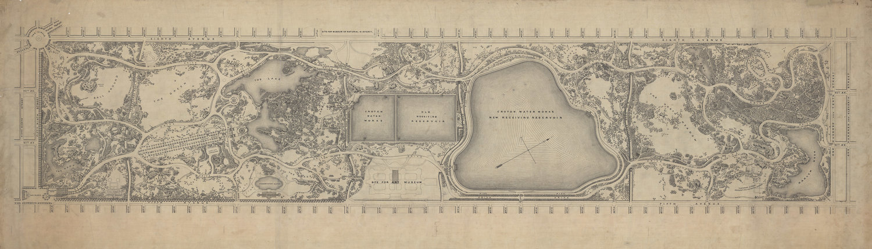 1875 Plan for Central Park
