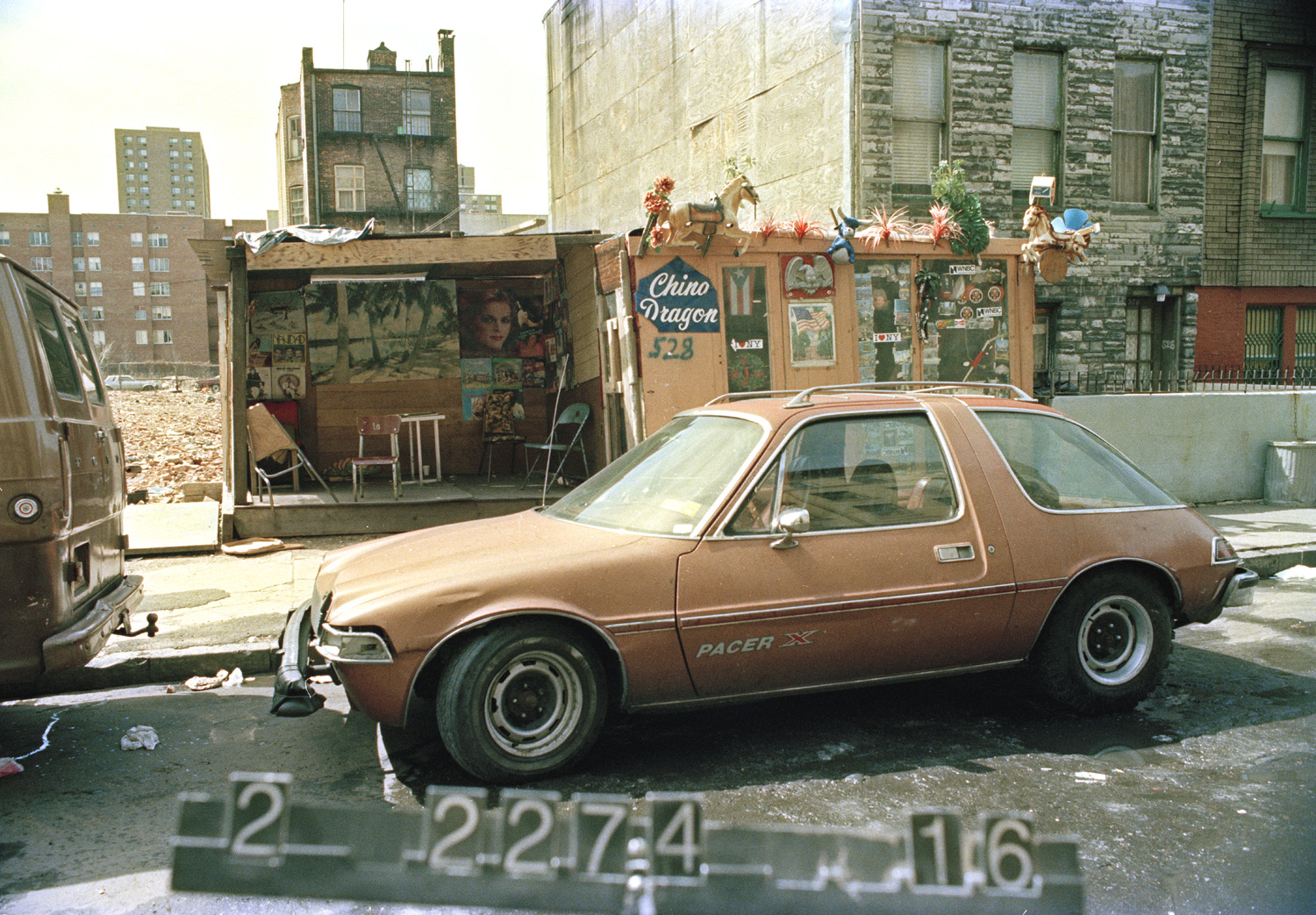 528 E. 148th Street, South Bronx, ca. 1985. DOF Tax Photograph Collection, NYC Municipal Archives.