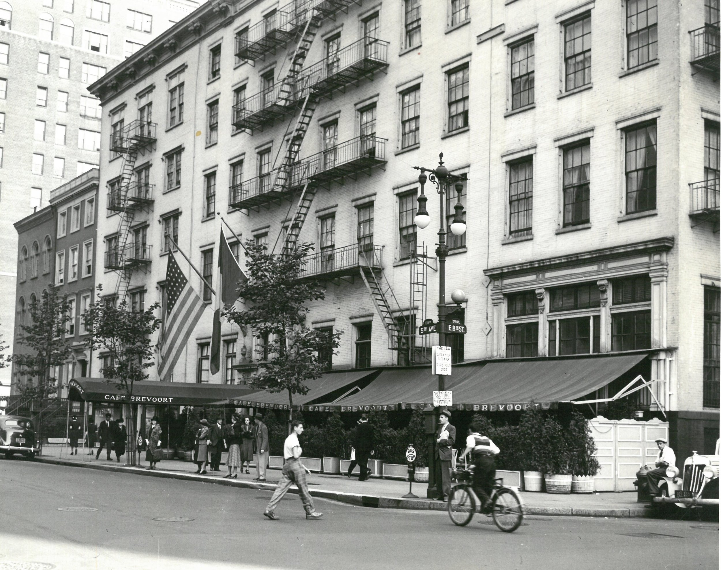 Brevoort Hotel. Date: October 17, 1938. Photographer: Eiseman. WPA-FWP Collection, 3377-15. NYC Municipal Archives.