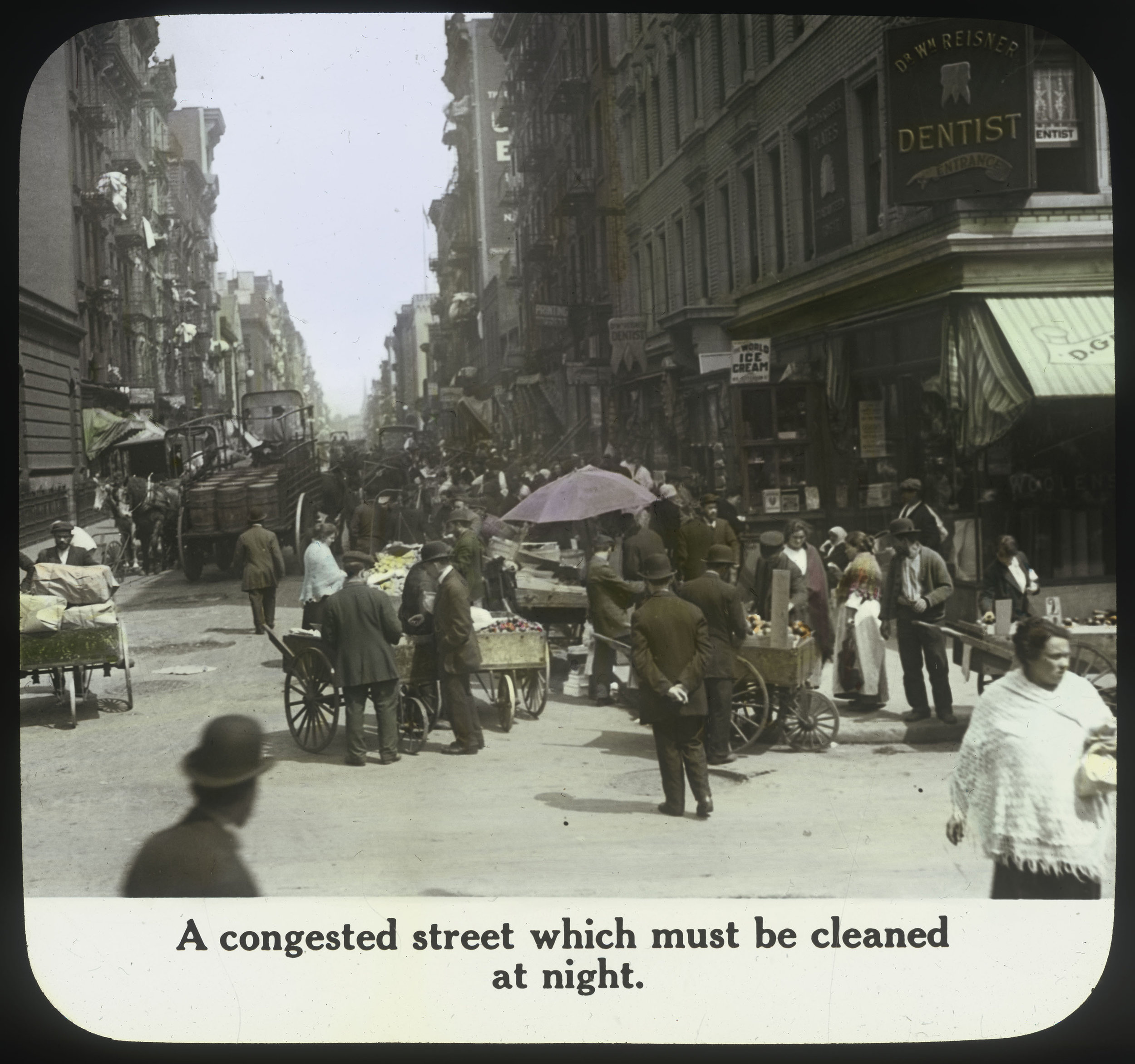 Lower East Side, ca. 1890s. Department of Street Cleaning Collection, NYC Municipal Archives.