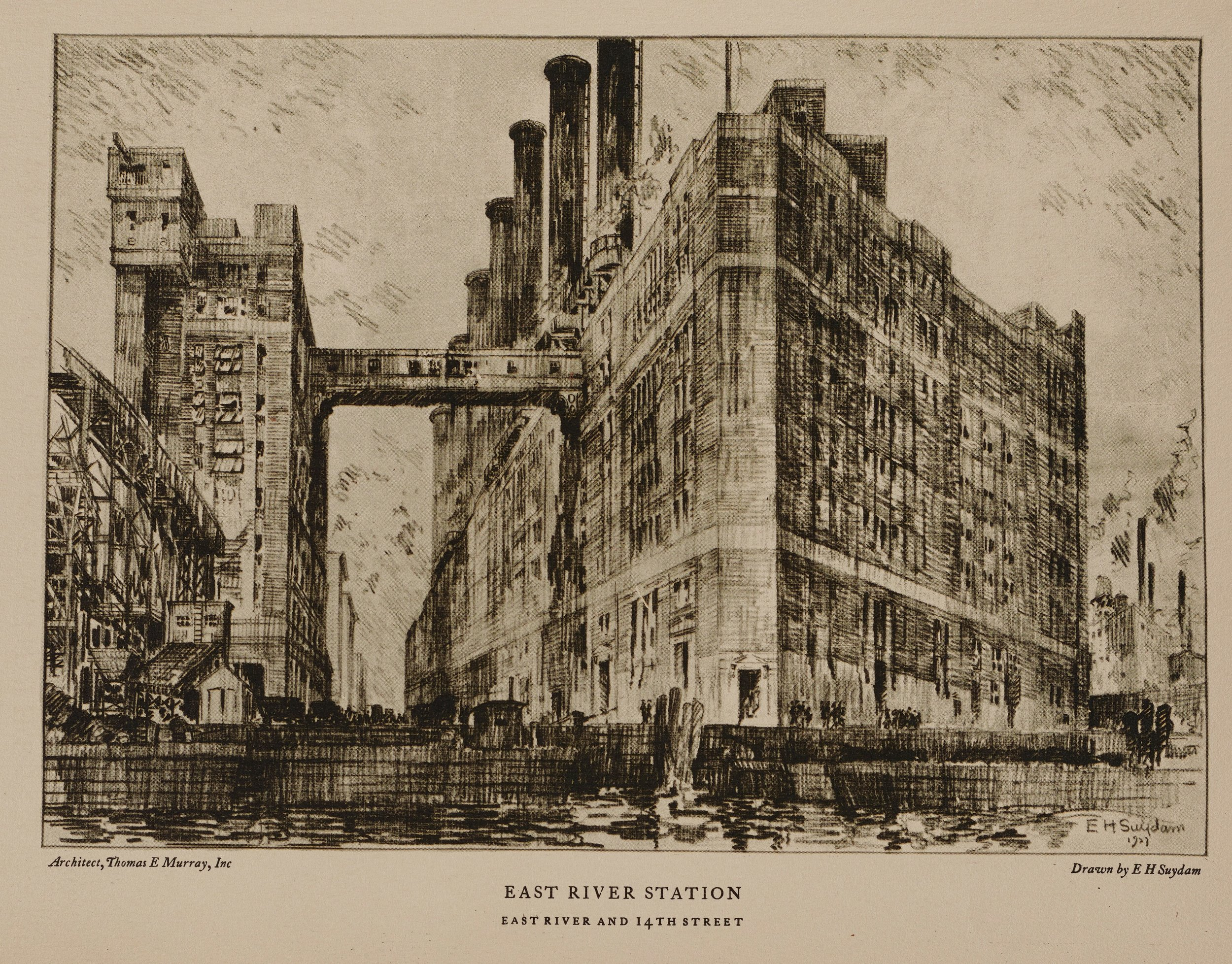 Illustrations. Towers of Manhattan, The New York Edison Company, 1928. Municipal Reference Library