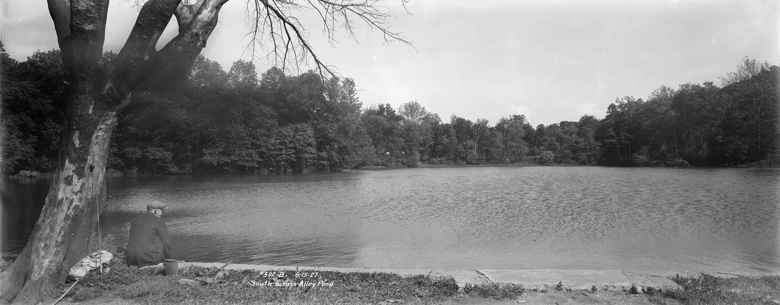 Alley Pond, Queens, June 15, 1927. Borough President Queens Collection, NYC Municipal Archives.