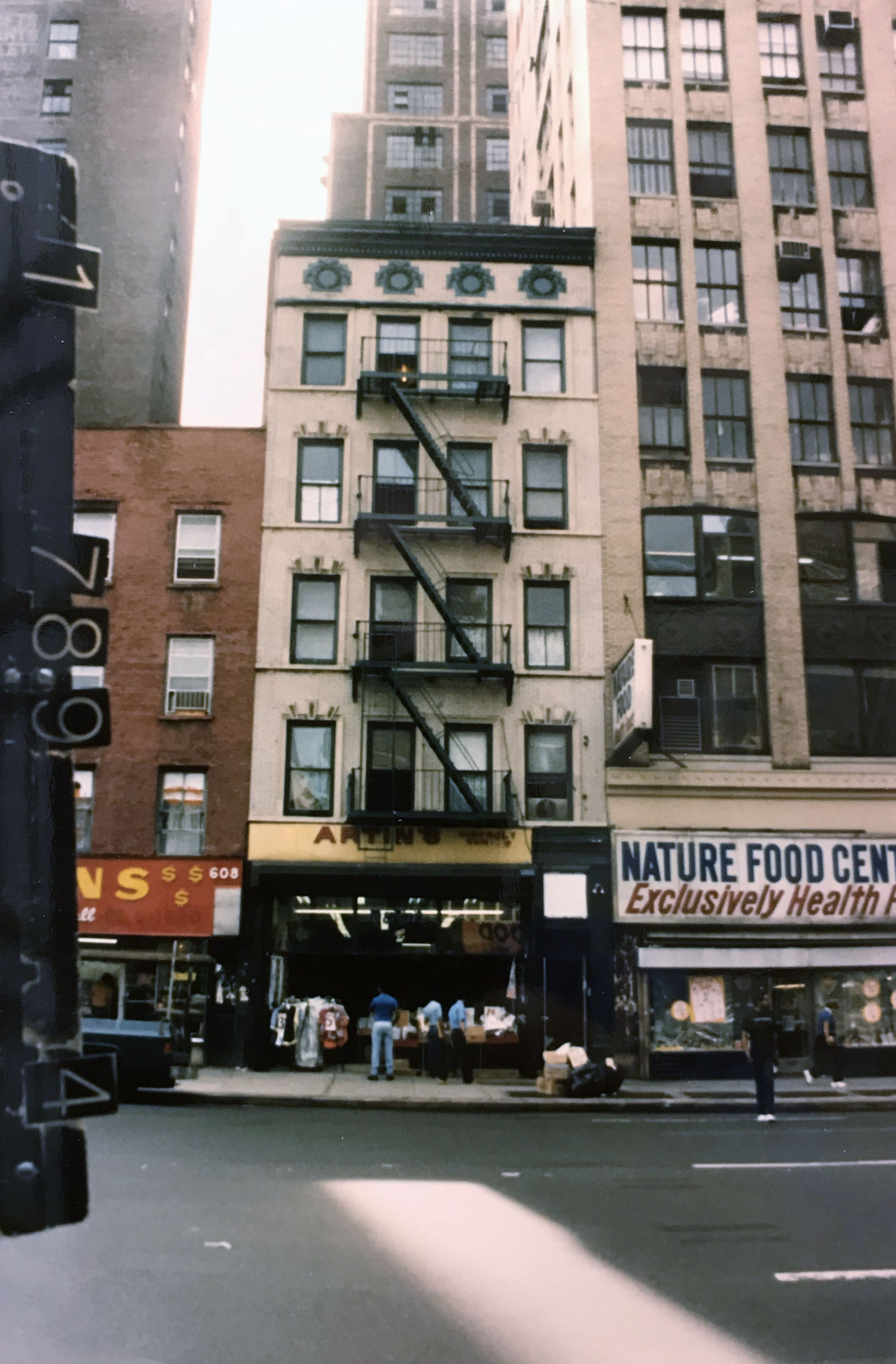 The Sun Hotel at 606 Eighth Avenue was purchased by the Trump Realty Corp. in 1970. Department of Finance Collection, NYC Municipal Archives.