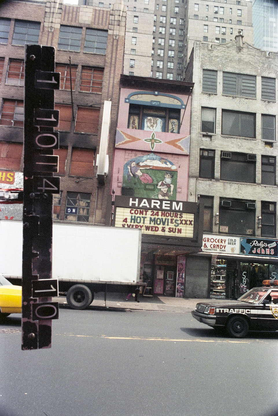249 West 42nd Street, ca. 1985. Department of Finance Collection, NYC Municipal Archives.