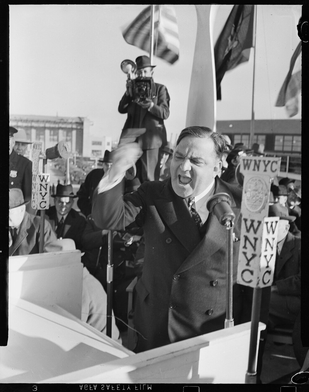 Mayor LaGuardia in 1939. NYPD Collection, NYC Municipal Archives.