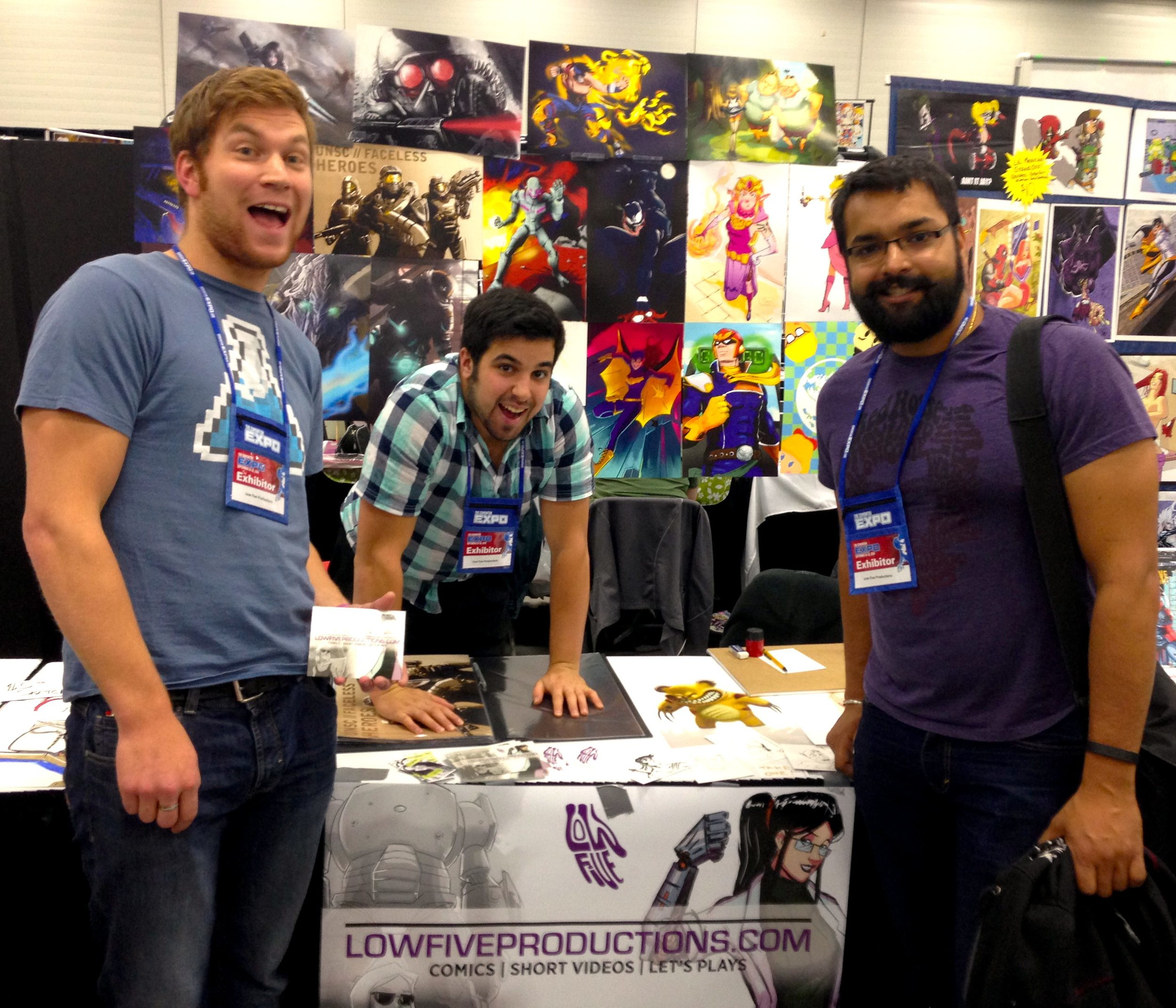 Low Five Productions at the 2014 Edmonton Expo