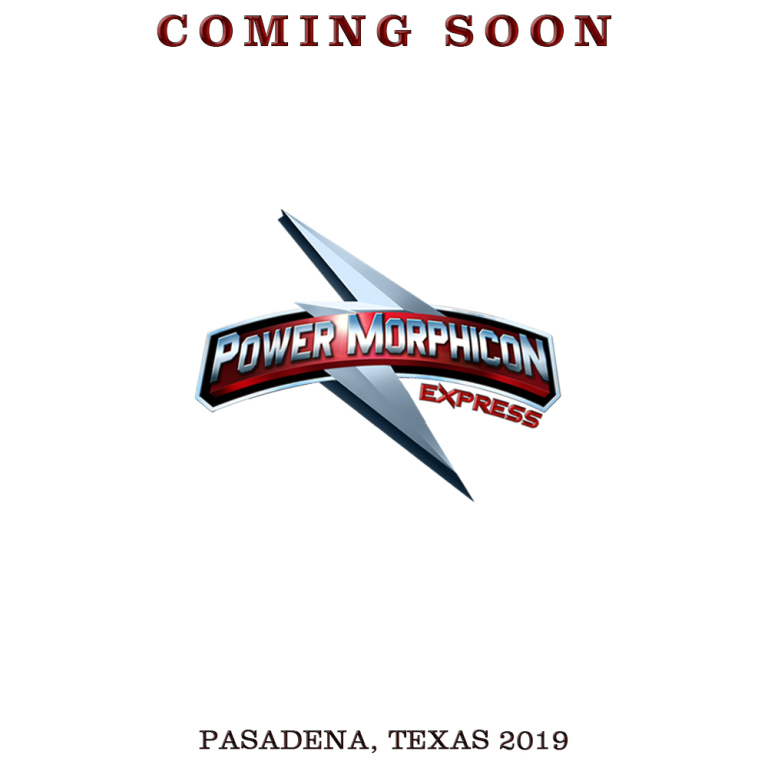 Power Morphicon Express coming to Pasadena, Texas in 2019  ( Image courtesy of Power Morphicon Convention )