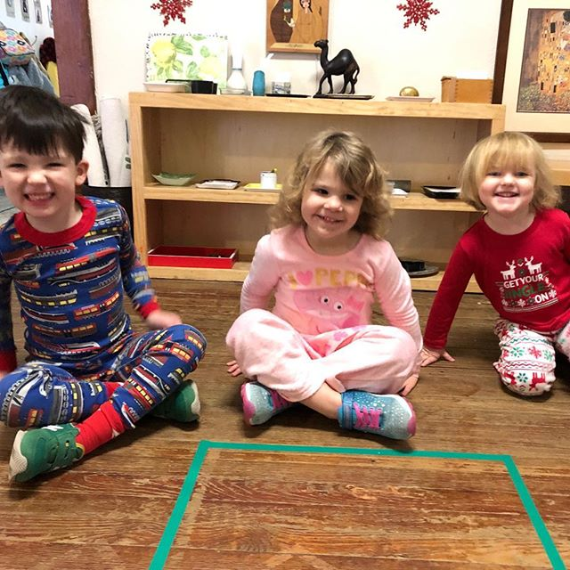 It was a jammies and hot cocoa kind of day!  Enjoy your holiday break, Casa family.