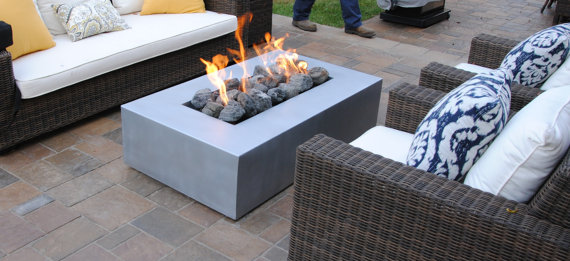 "Fire Pits - Click the picture to see one of our custom fire pits on ""What Designers""."