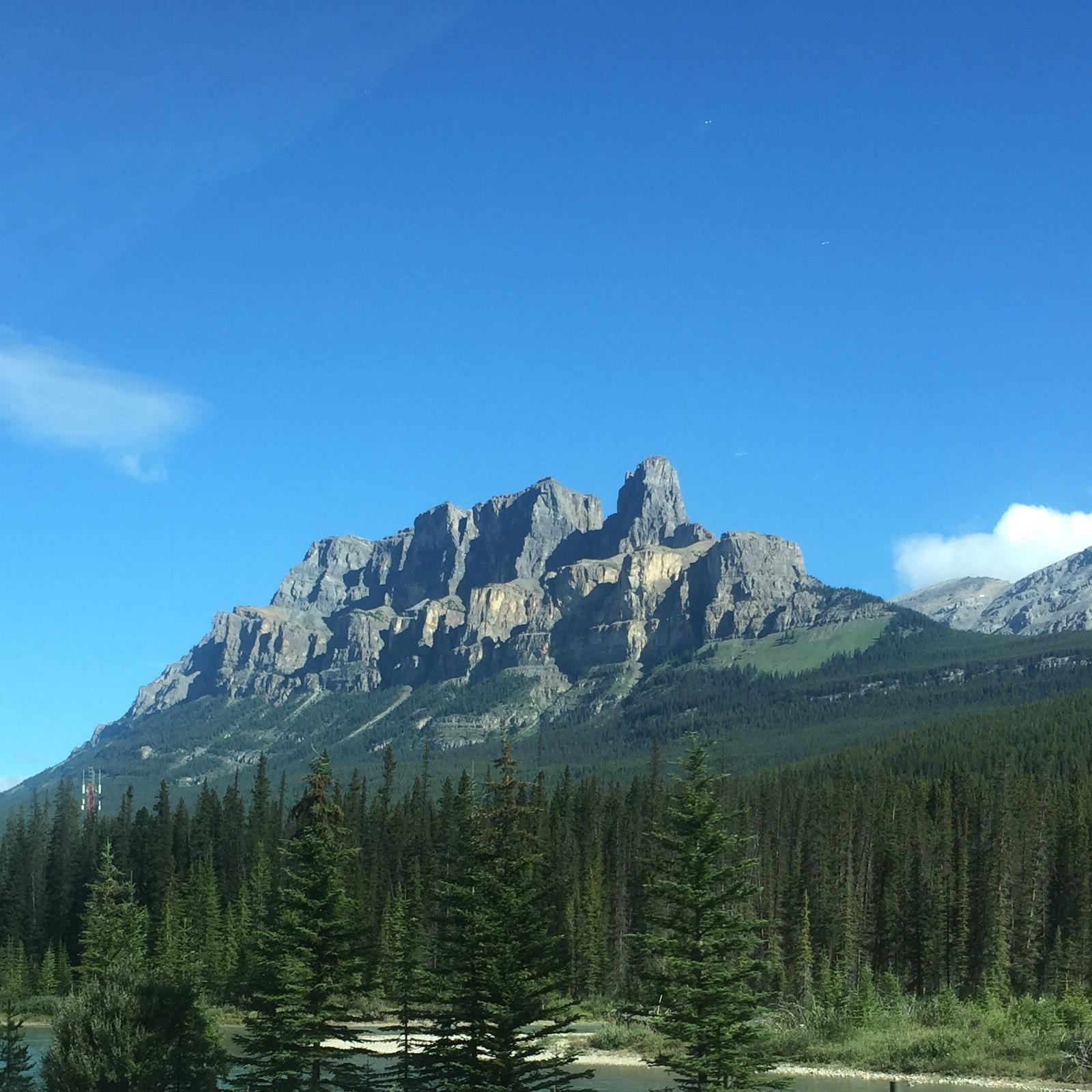 Castle Mountain - My favourite mountain.